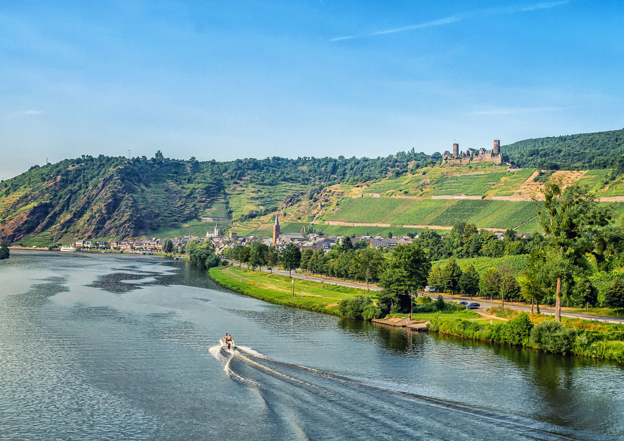 Down the Moselle, Germany