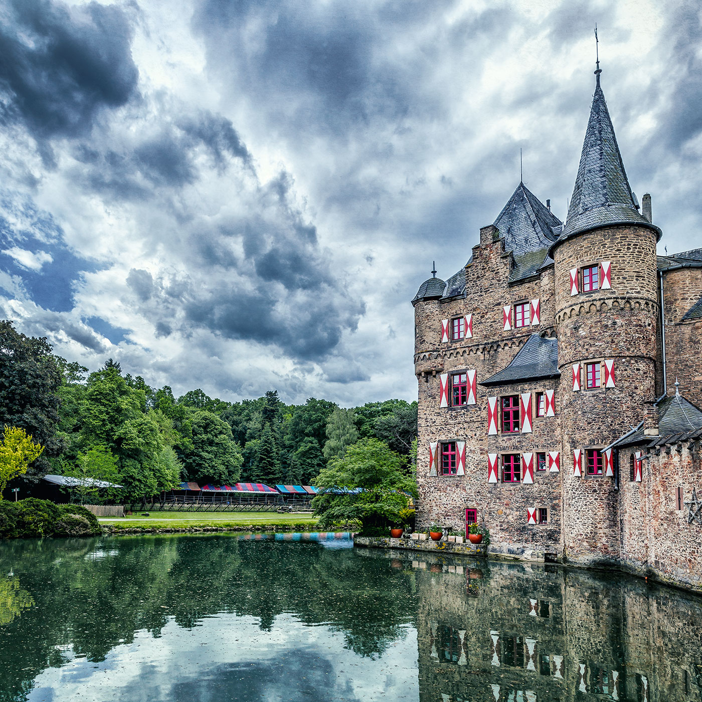 Castle of Satzvey, Germany