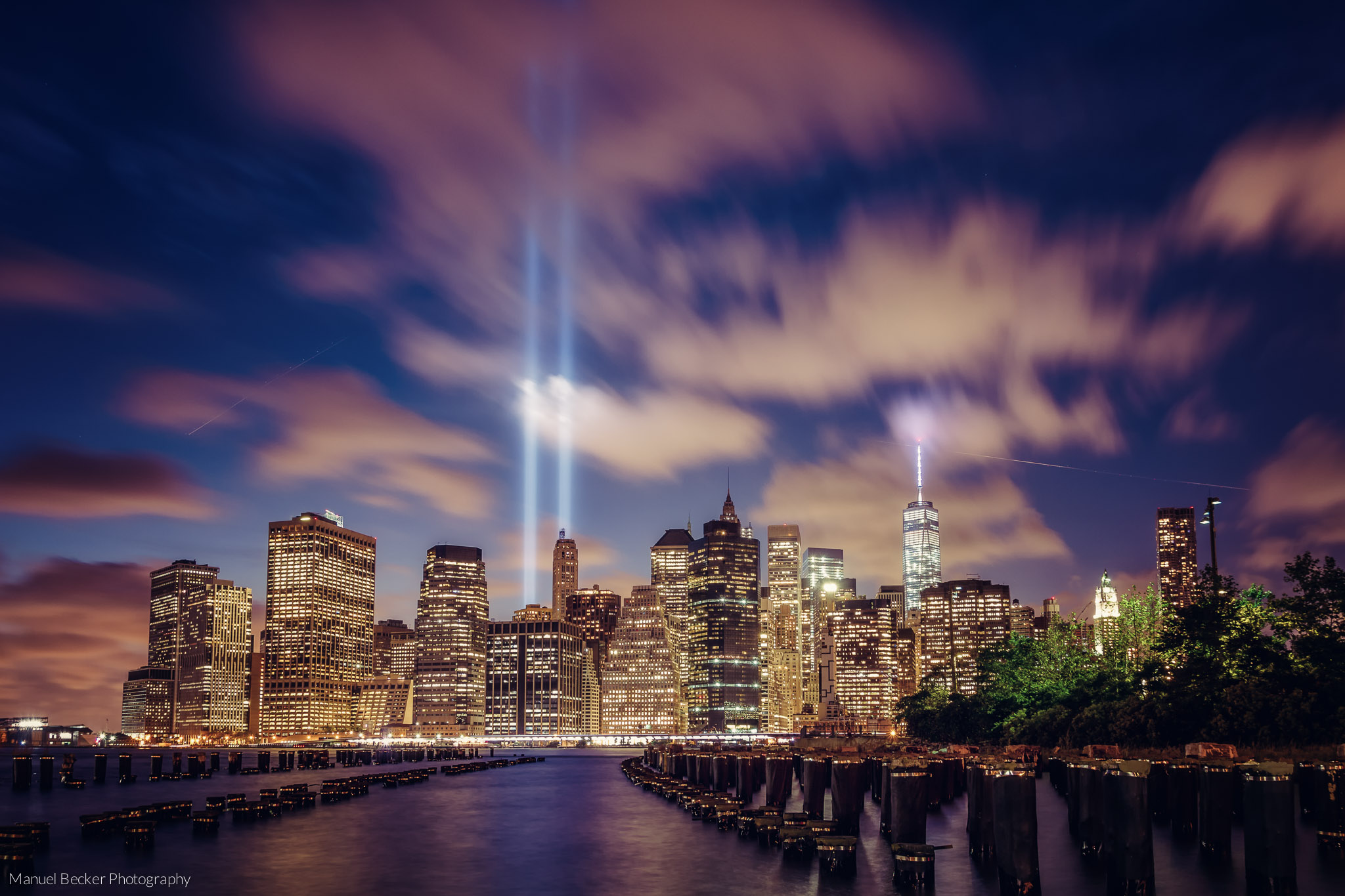 Tribute in Light, New York 2014, USA