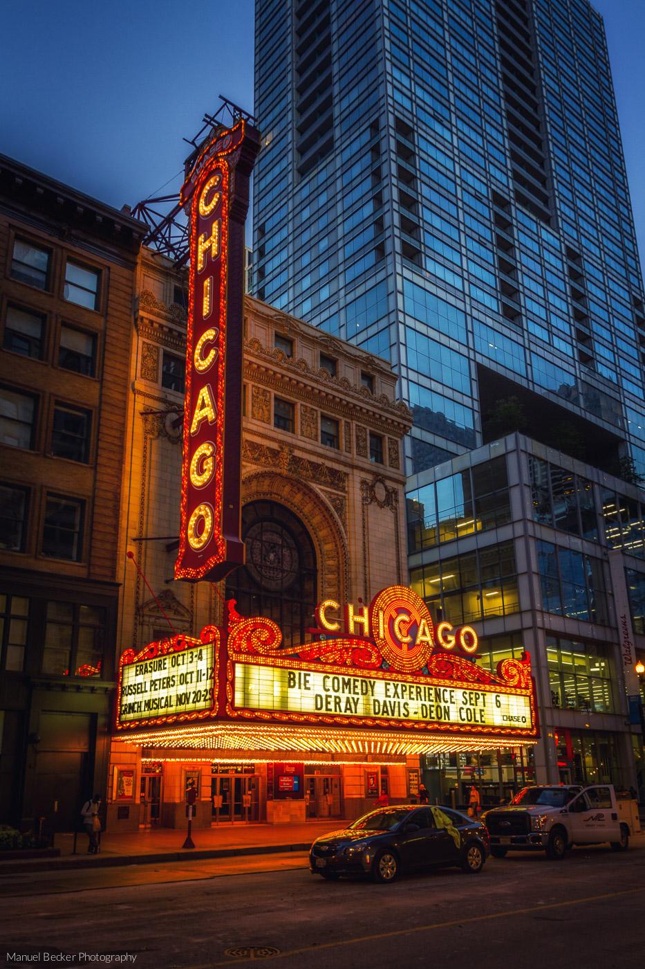 Chicago Theatre, USA