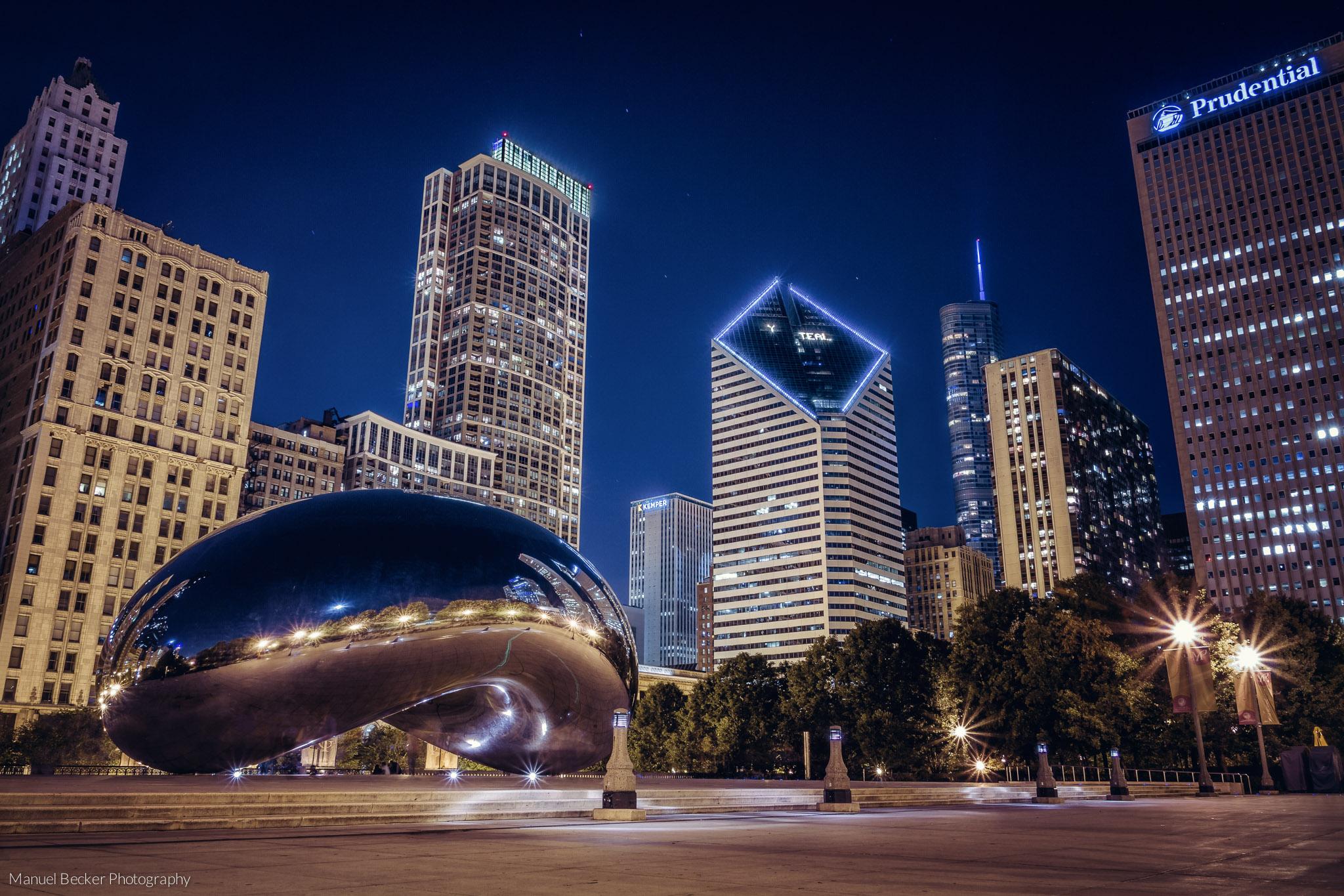 Cloud Gate, Chicago, USA