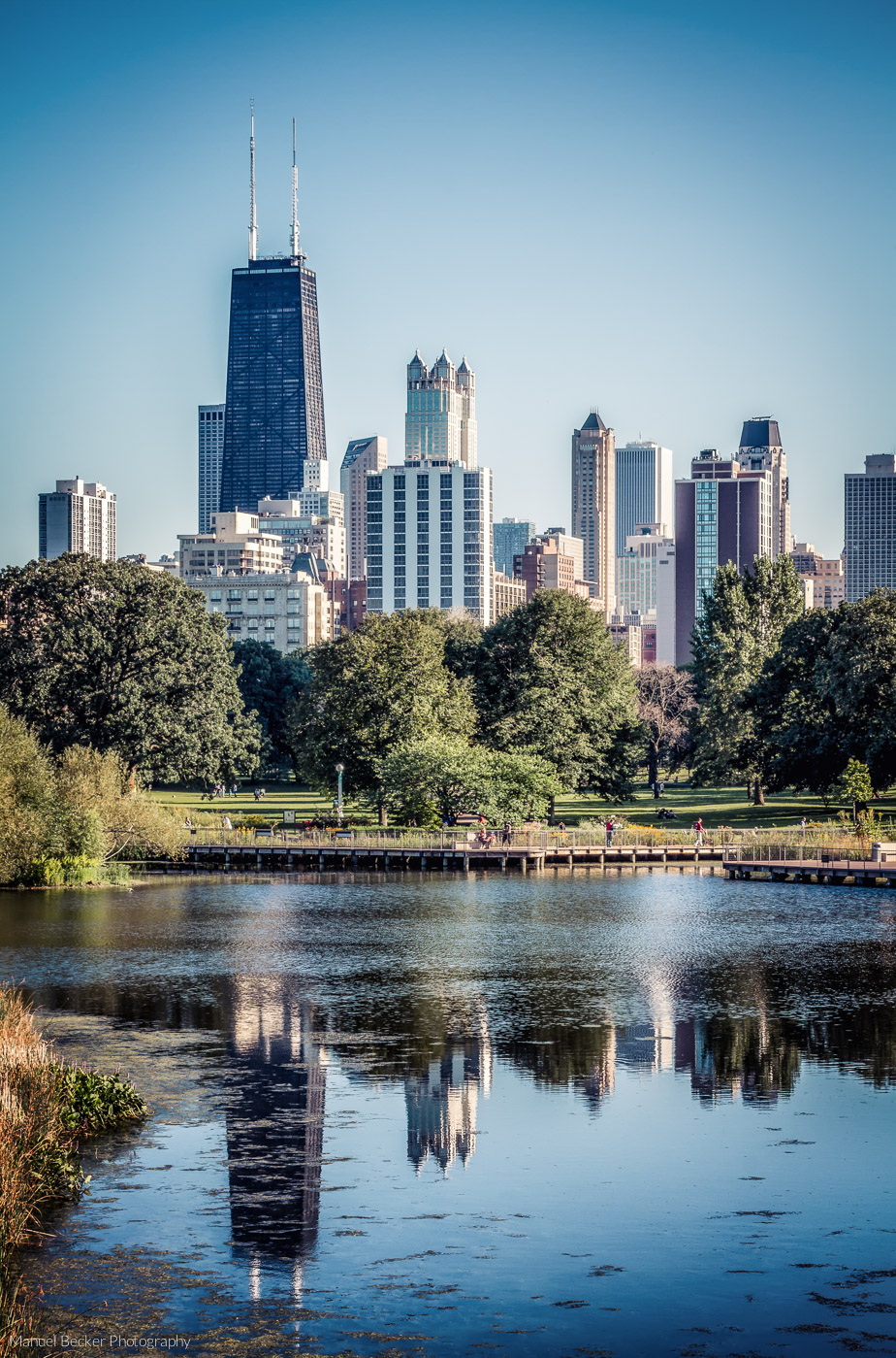 South Pond of Chicago Lincoln Park, USA