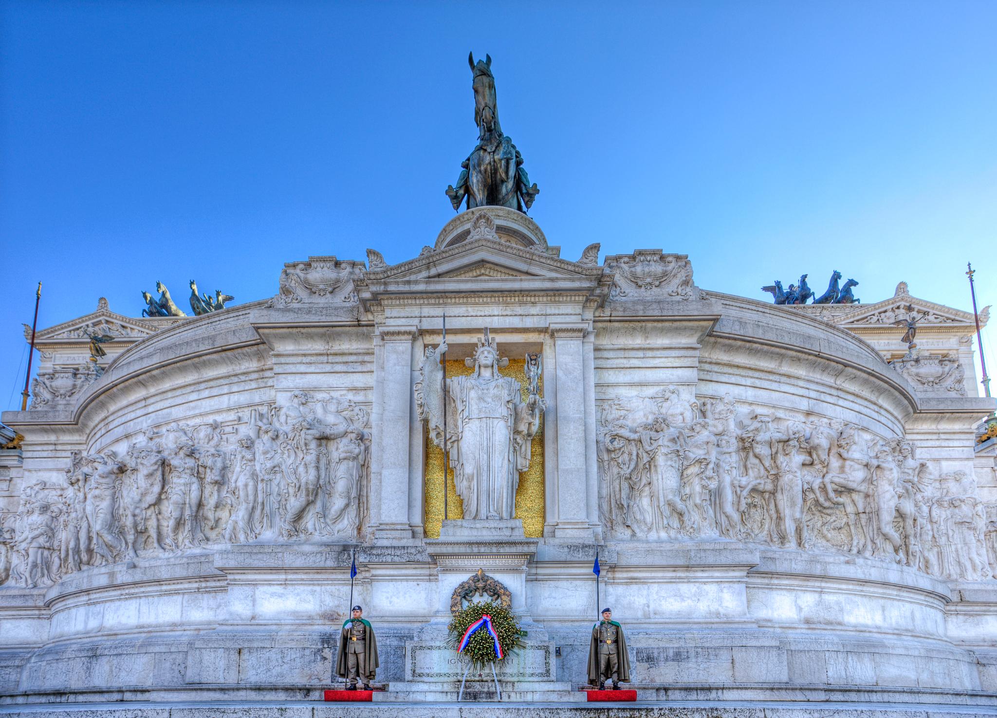Altare della patria, Italy