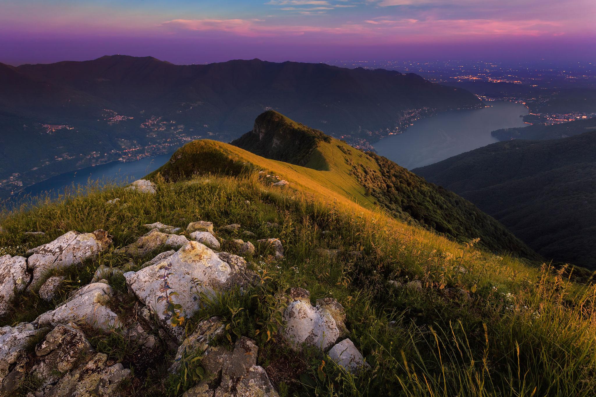 breathing the light, Italy