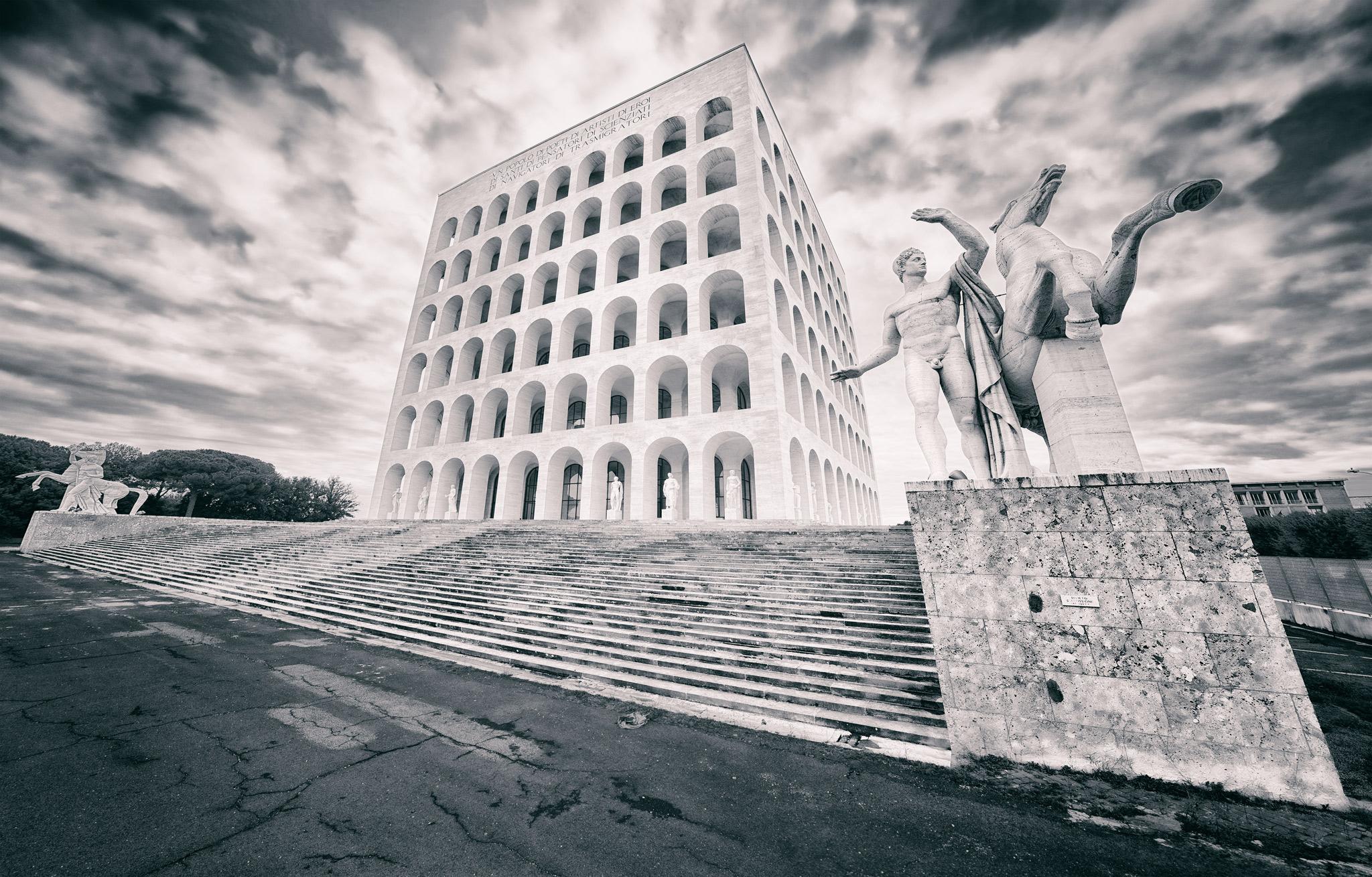 Modern Colossuem, Italy