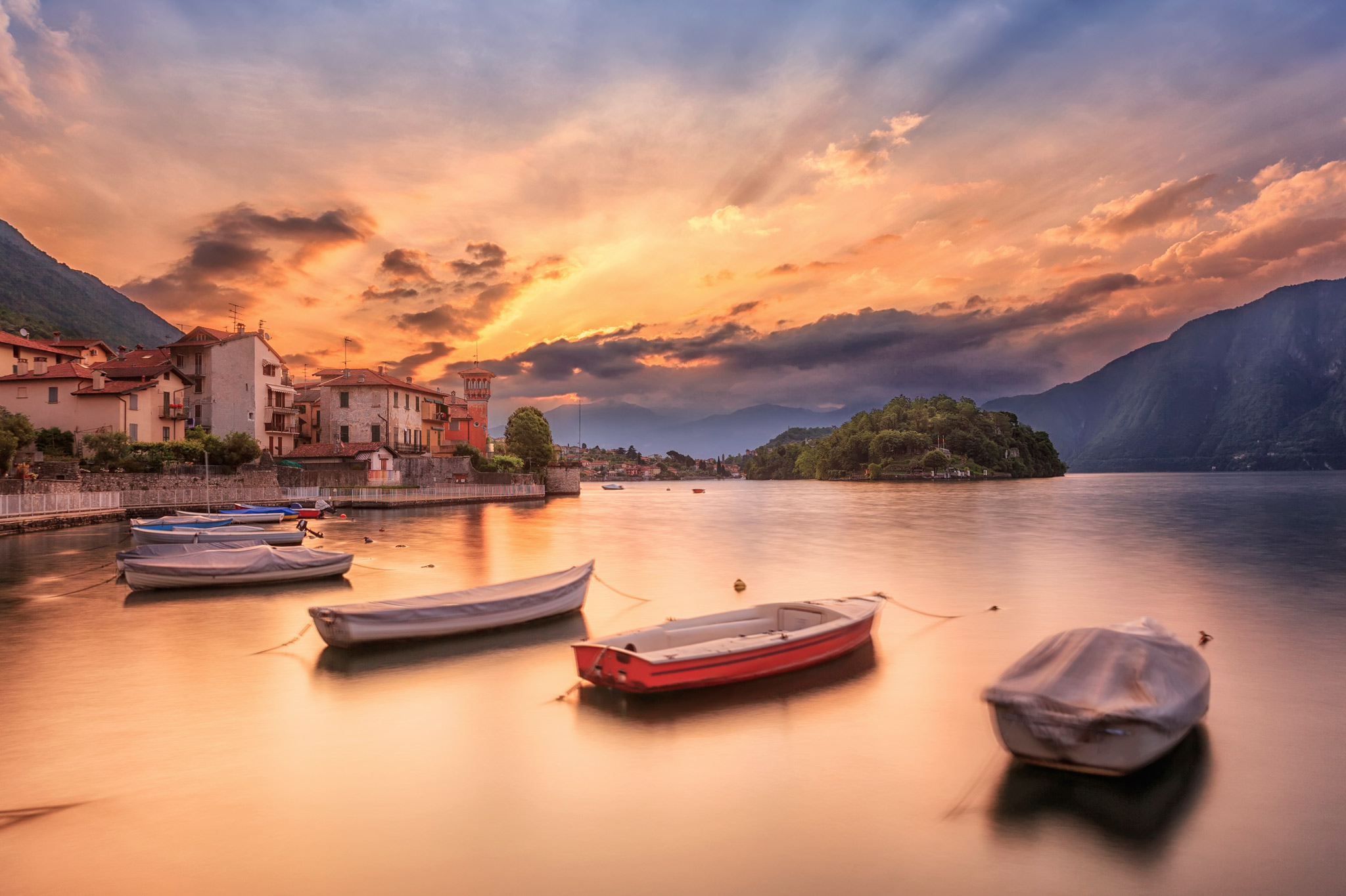 The lake soul, Italy