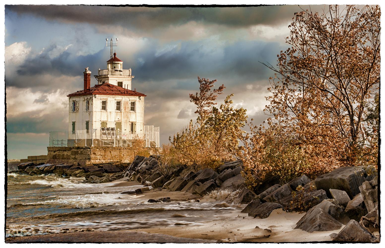 Fairport Harbor West Breakwater Lighthouse, USA