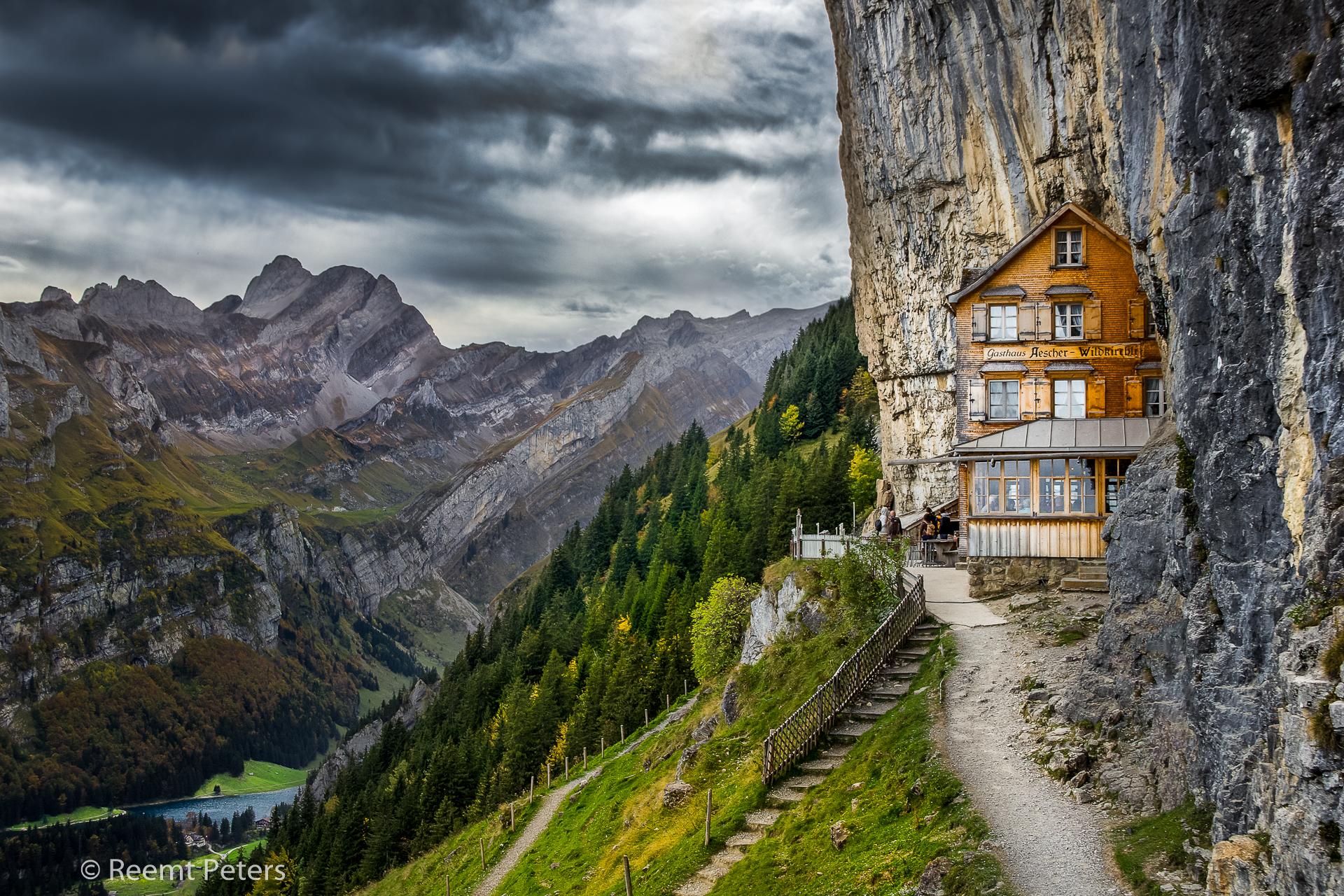 Gasthaus Aescher-Wildkirchli, Switzerland