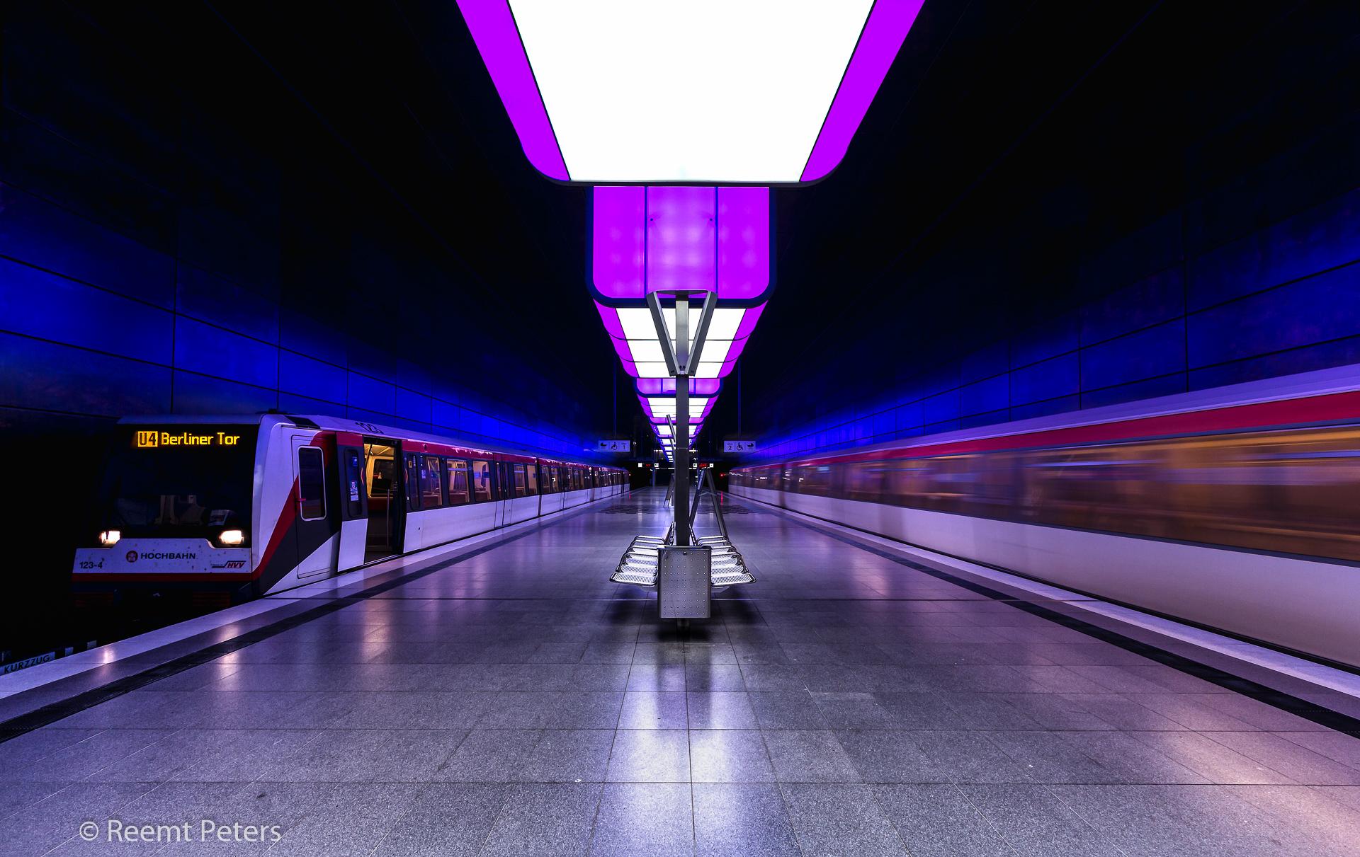 Hamburg metro, Germany