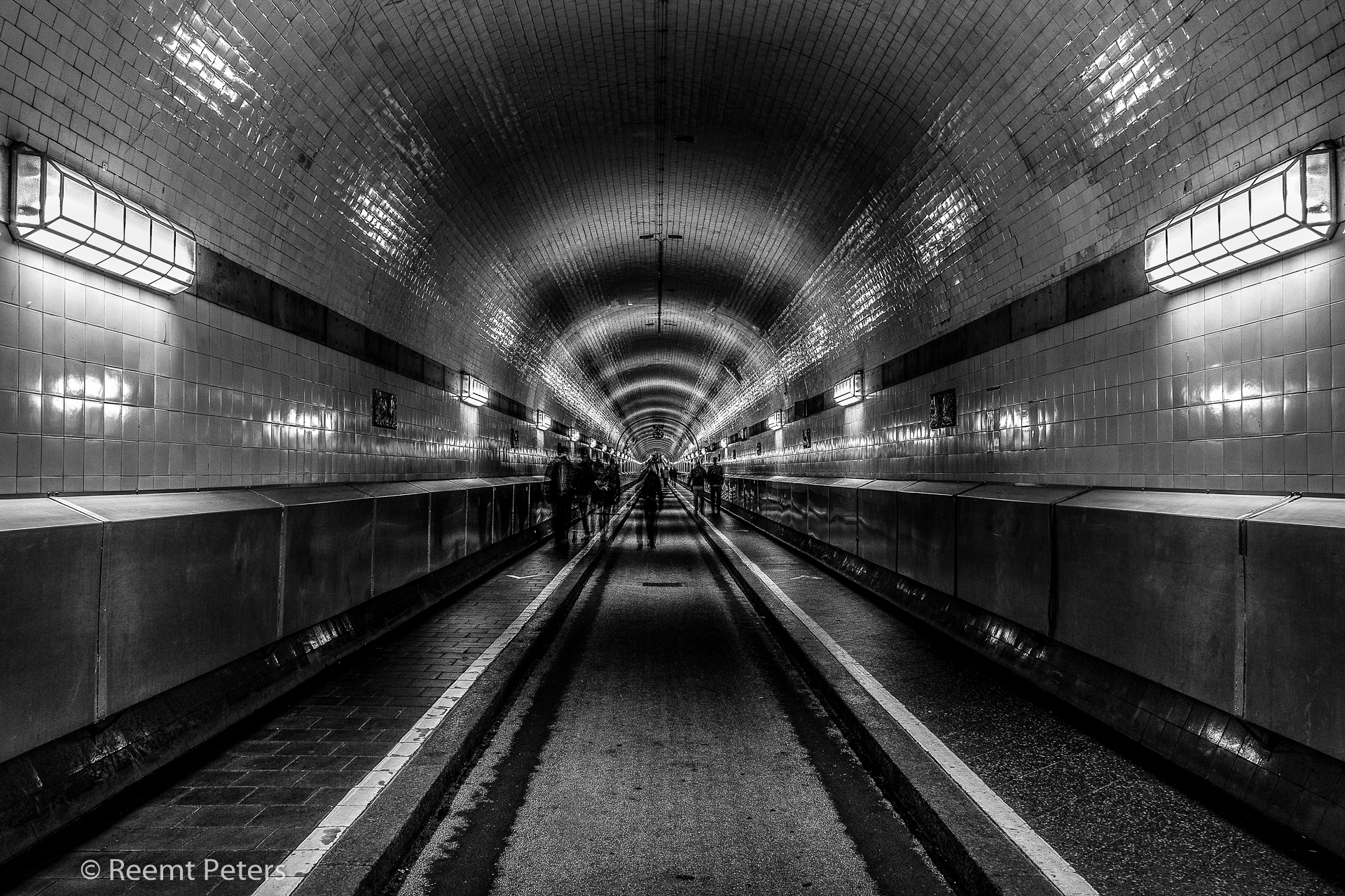 Hamburg underground, Germany