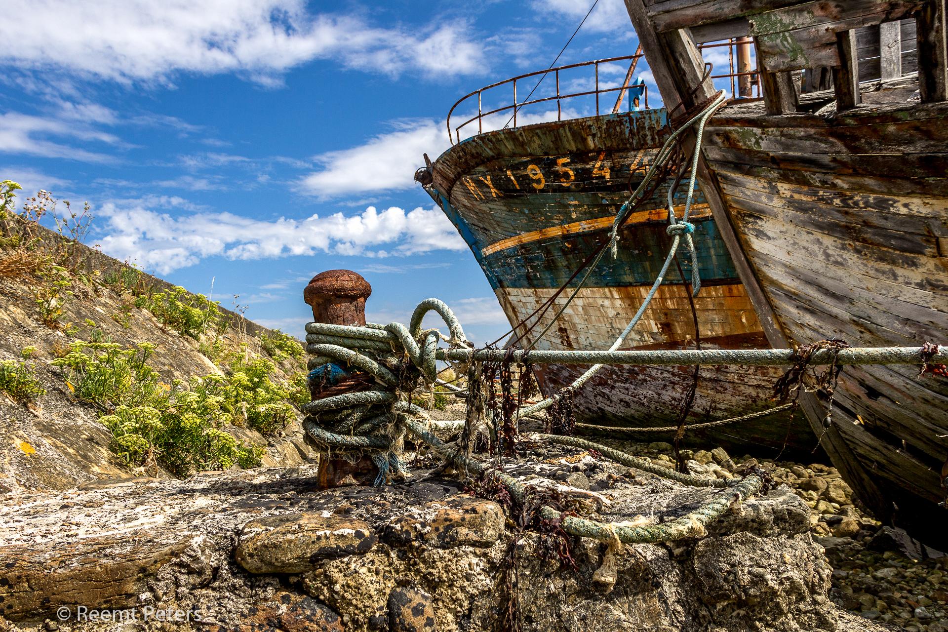 Rusty ships, France