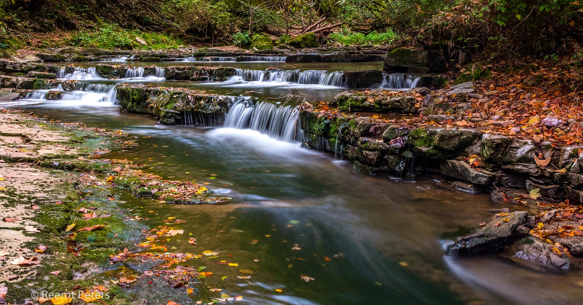 Schlichemklamm waterfall, Germany