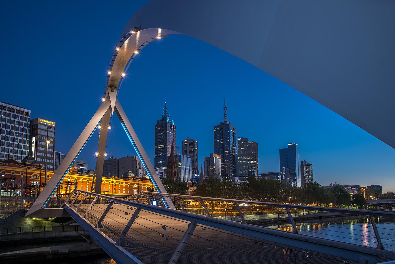 Southbank Promenade, Southgate Melbourne, Australia