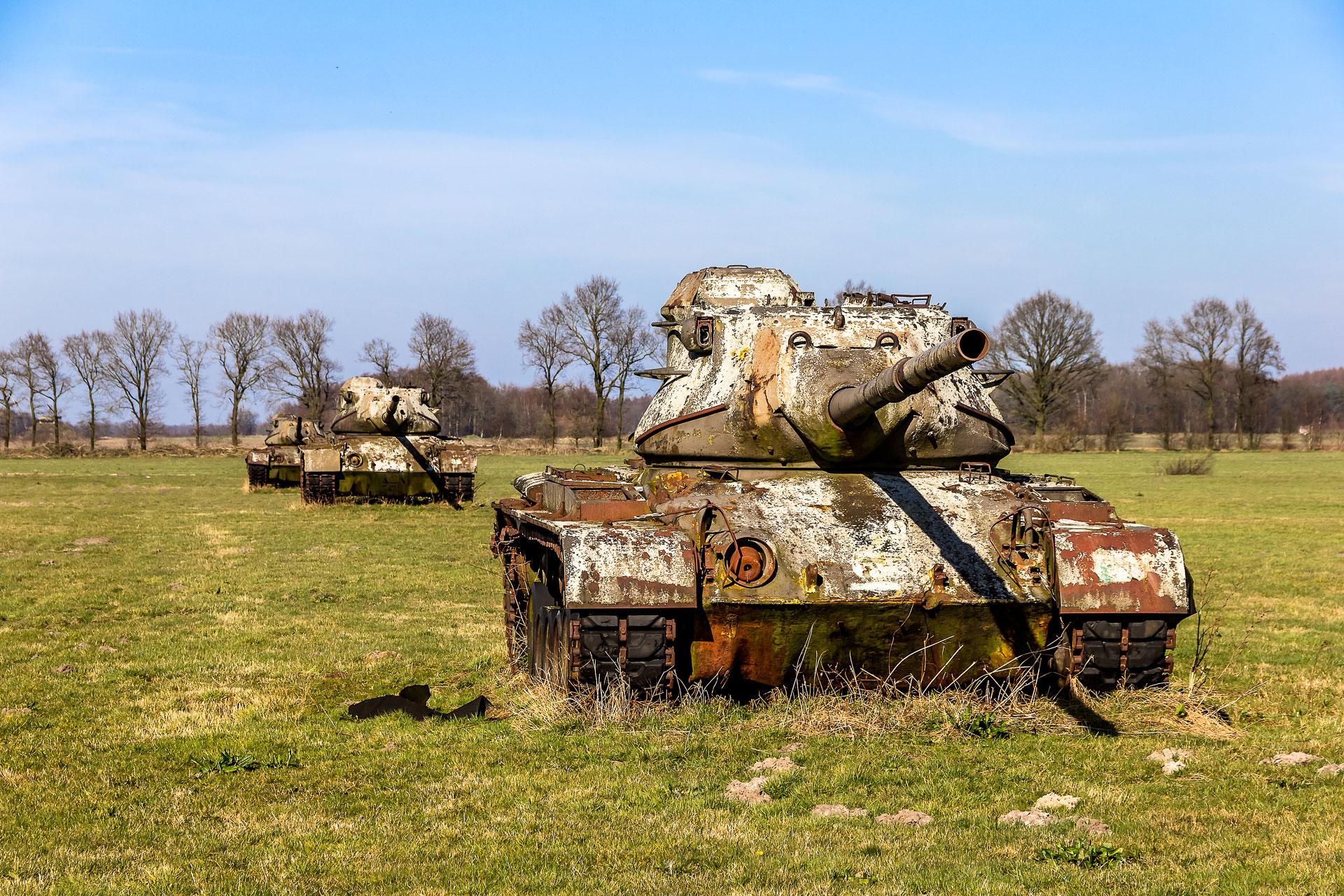 Tank cemetery, Germany