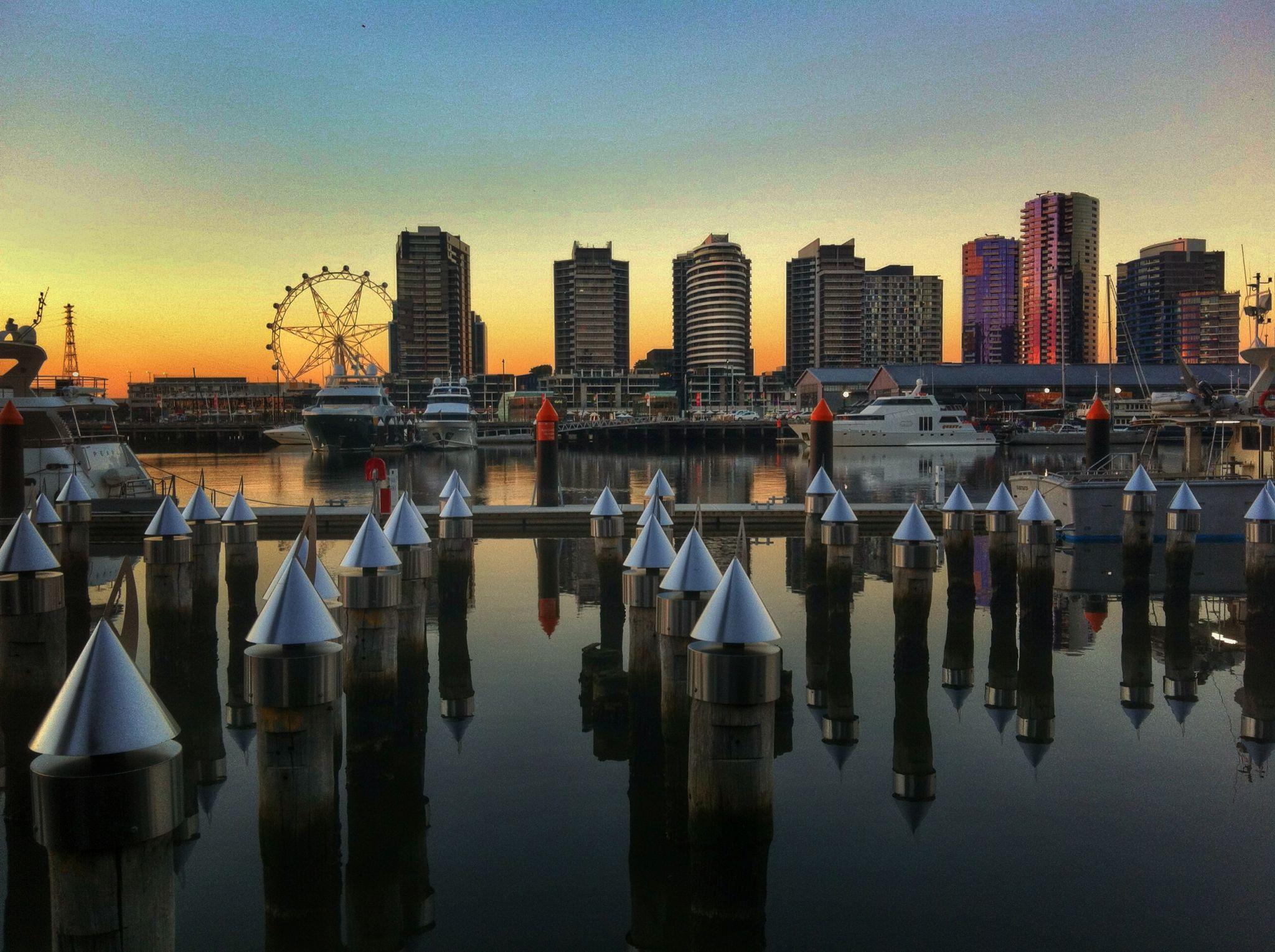 Victoria Harbour, Docklands Melbourne, Australia