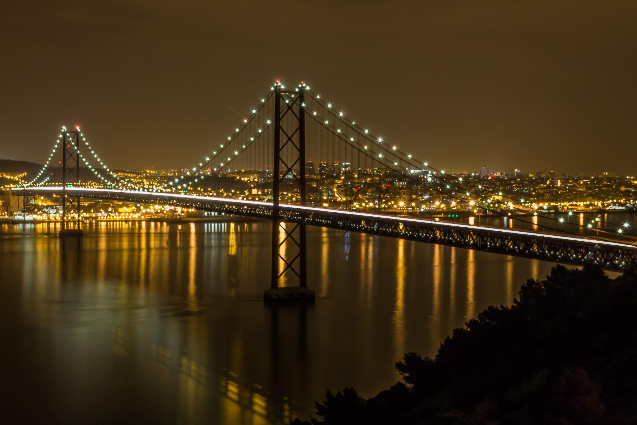 25th Of April Bridge, Portugal