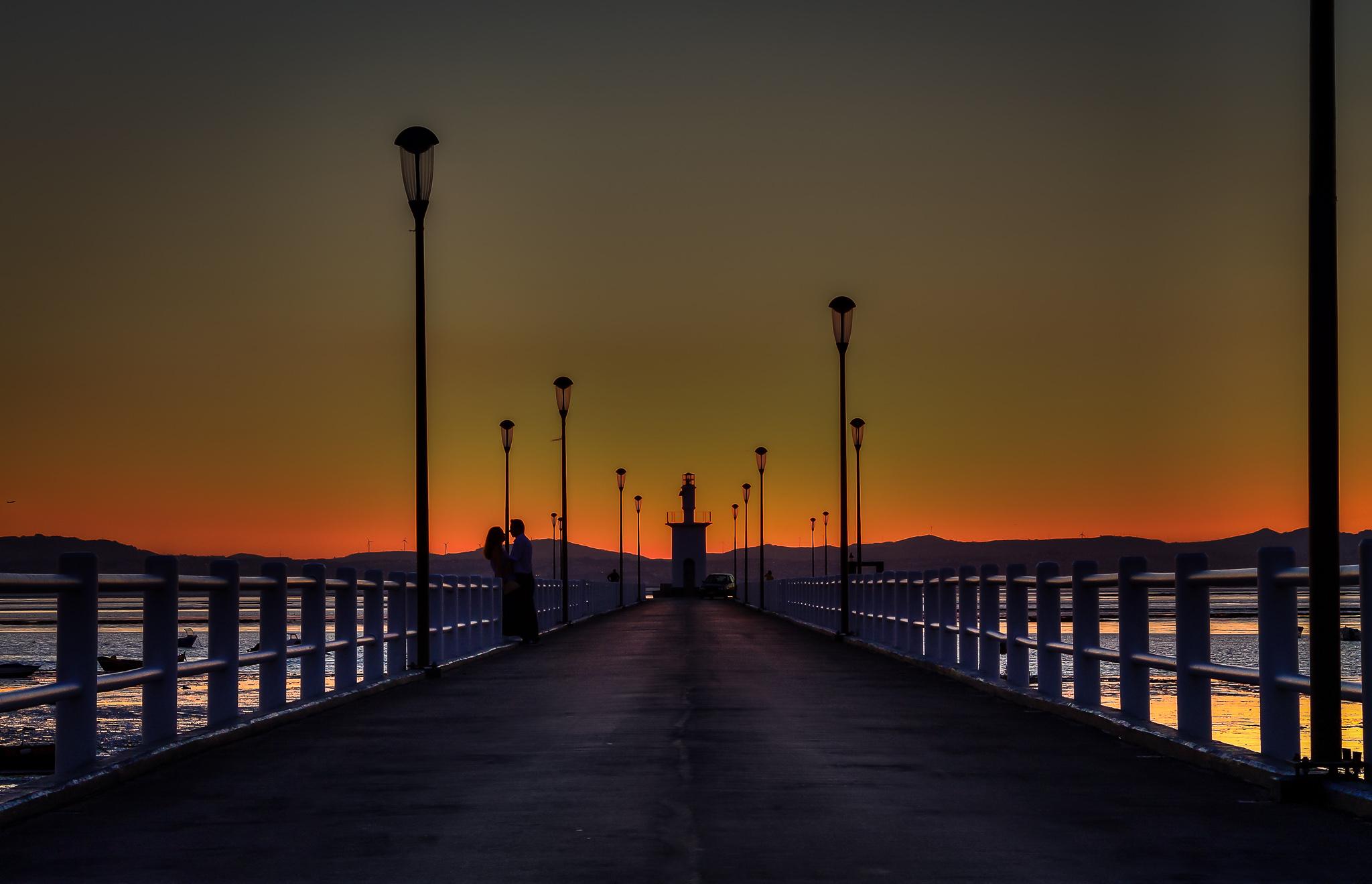 Alcochete Pier, Portugal