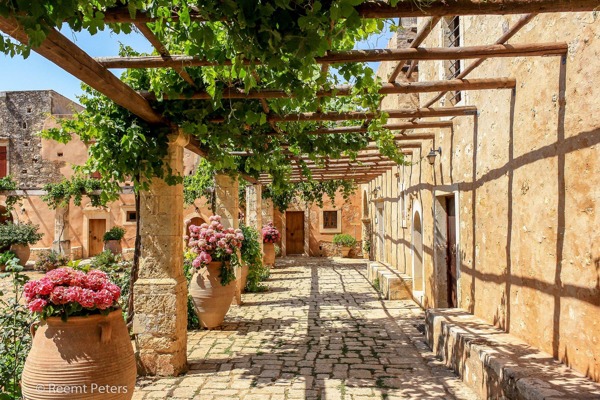 Arkadi monastery, Greece