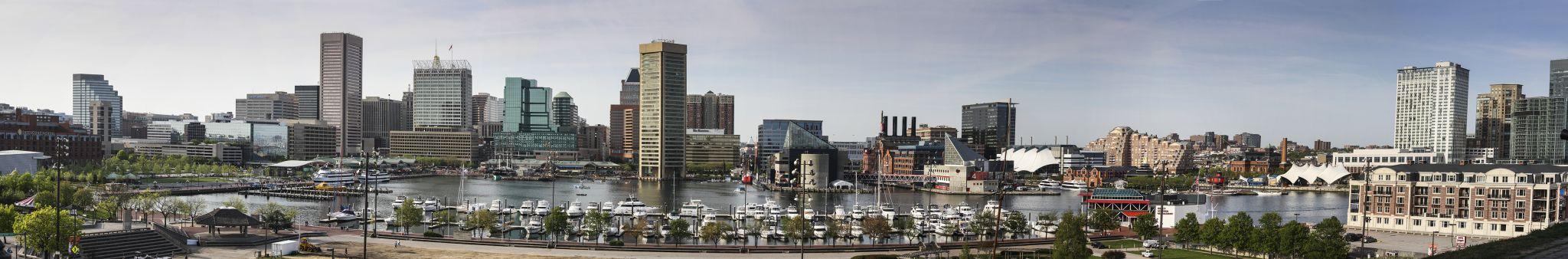 Baltimore Inner Harbor, USA