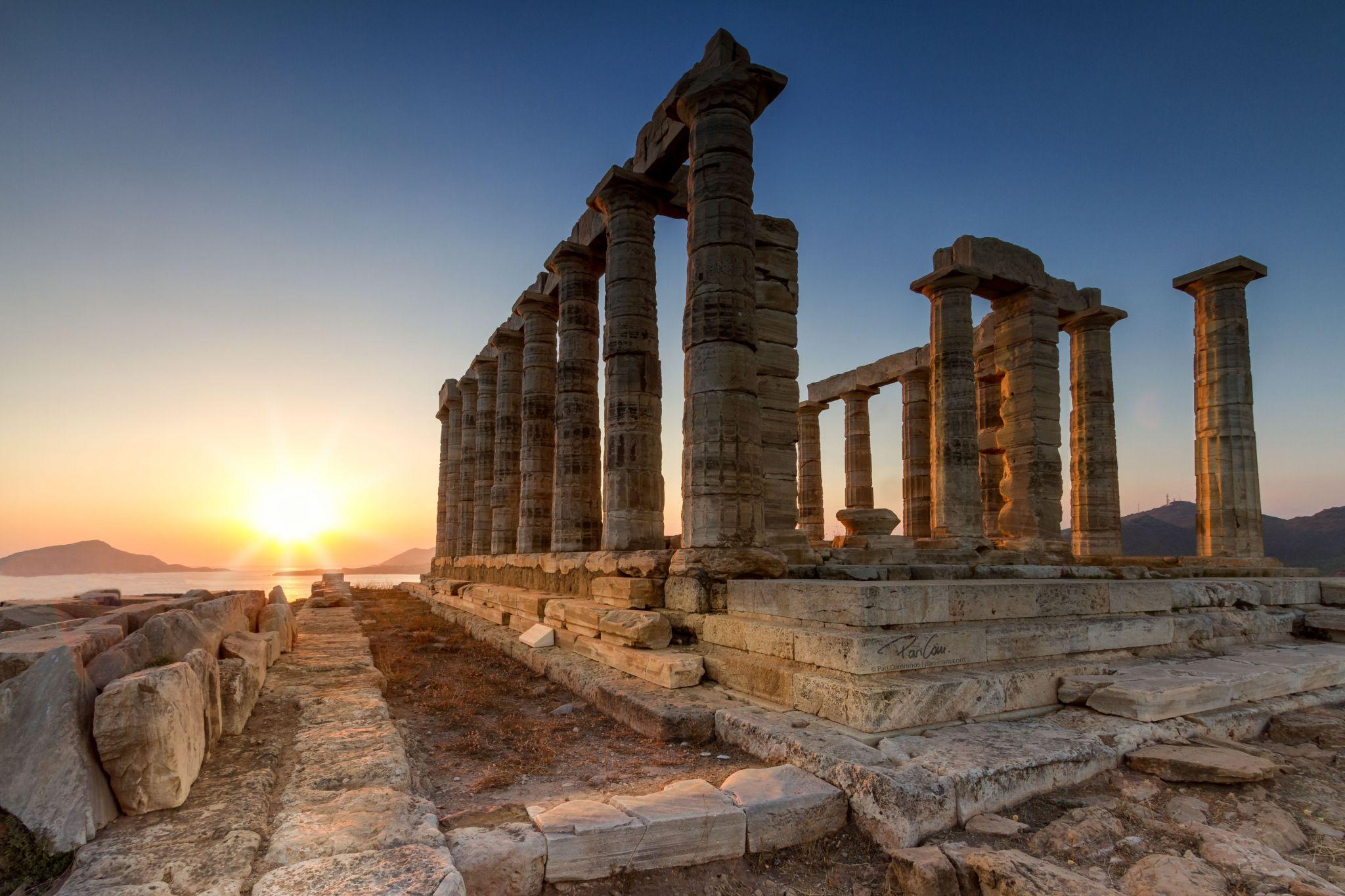 Cap Sounion, Greece