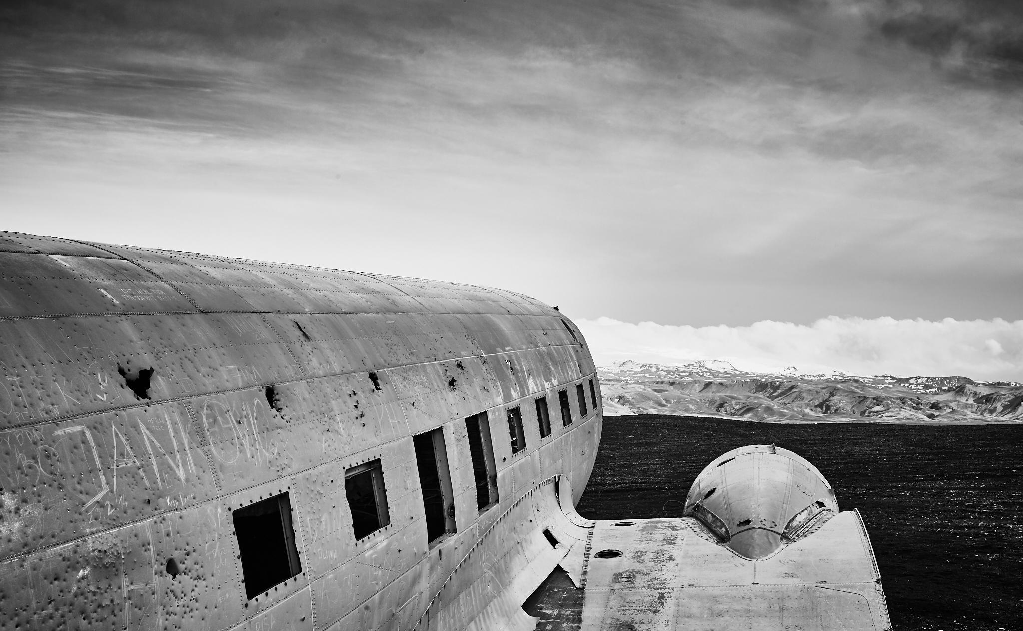 DC-3 Wreck site, Sólheimasandur, Iceland