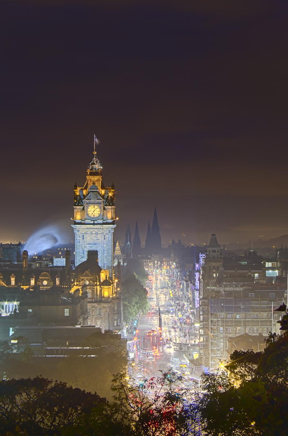 Edinburgh at Night, United Kingdom