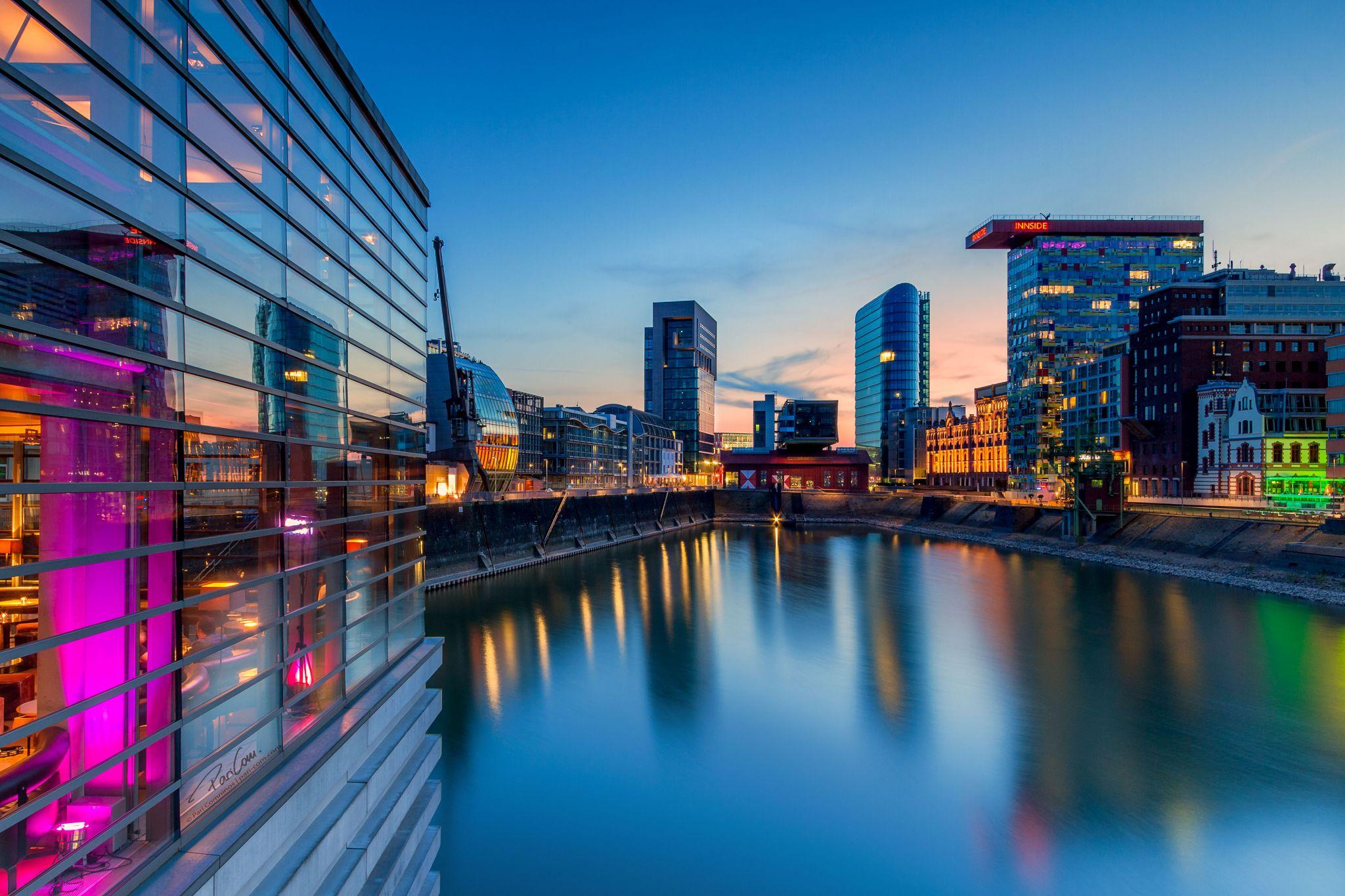 Mediahafen Düsseldorf, Germany