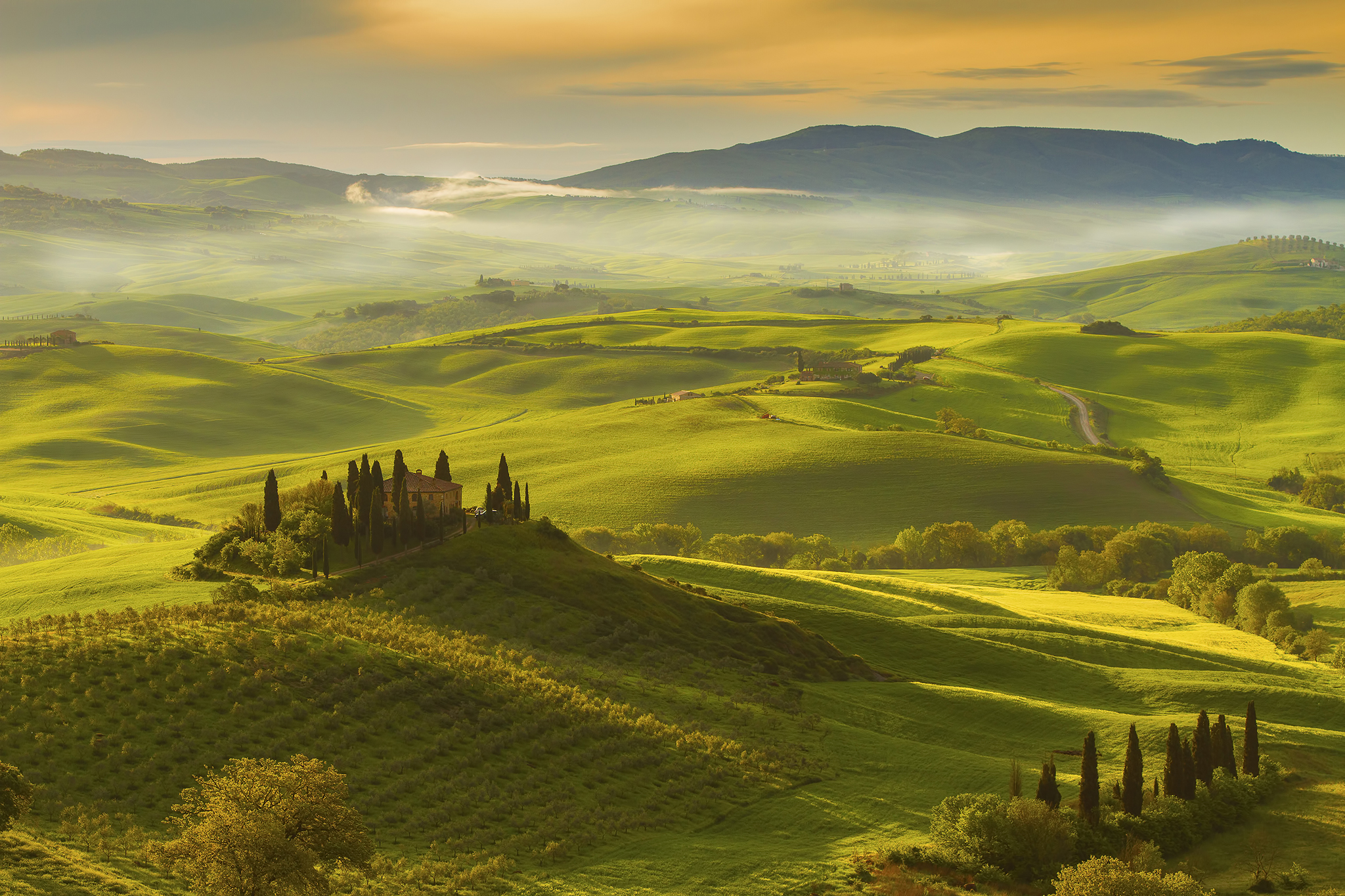 Podere Belvedere in the Val D'orcia Tuscany, Italy