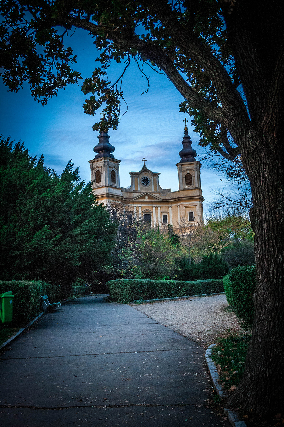 Roman Catholic Basilica from Oradea, Romania