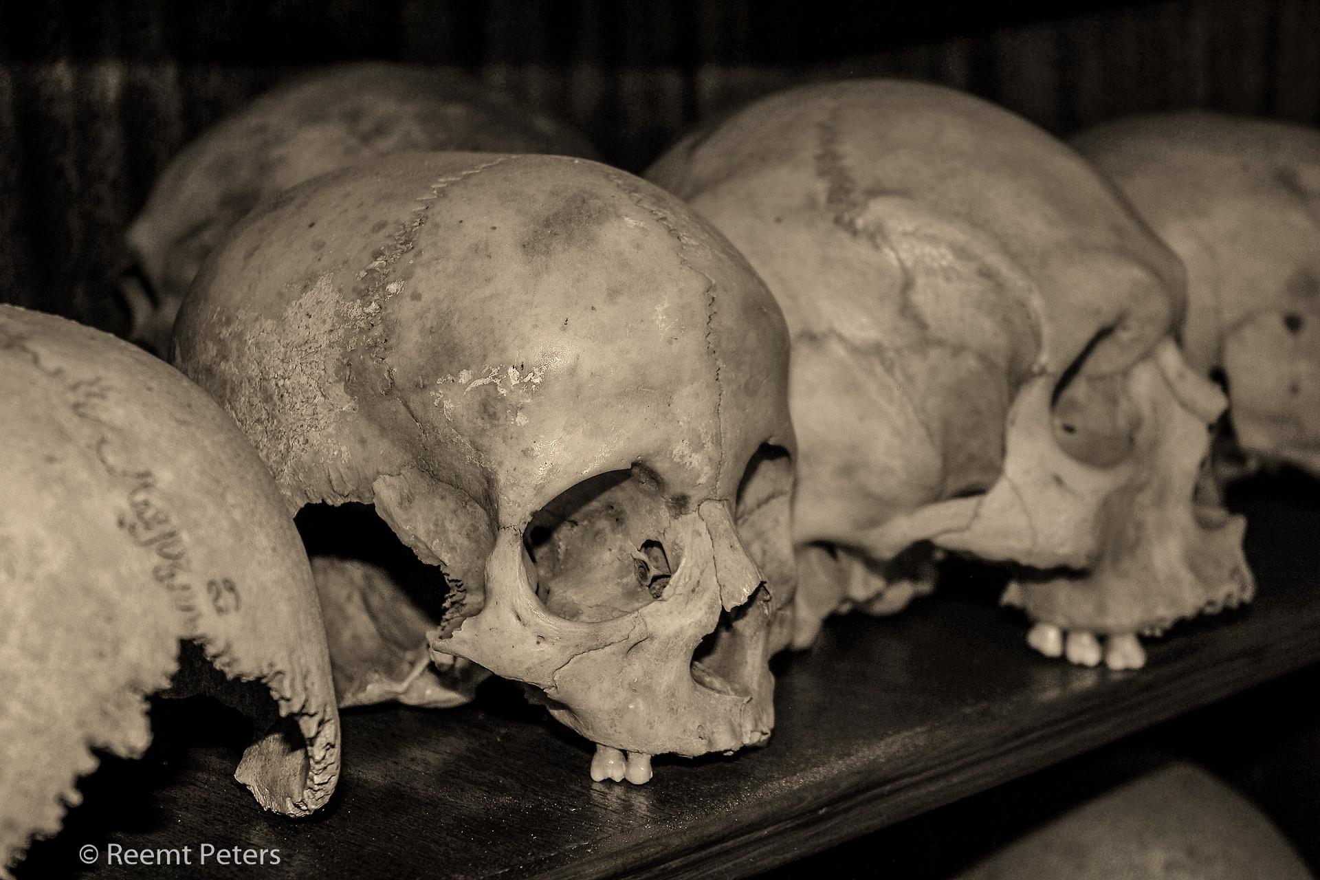 Skulls of the fallen, Greece
