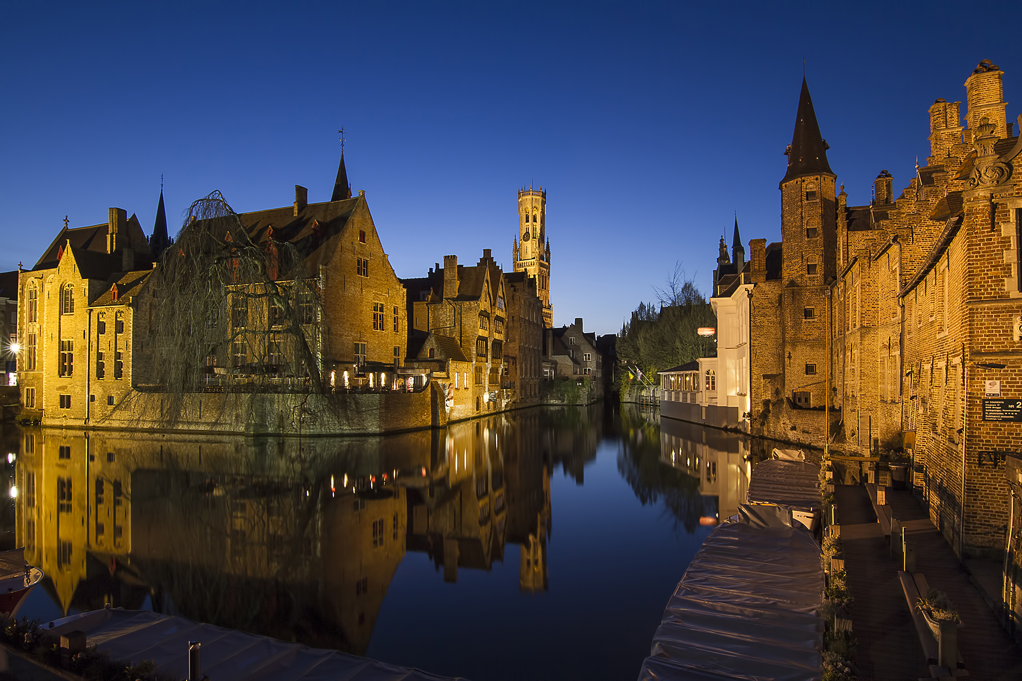 The Belfort of Bruges, Belgium
