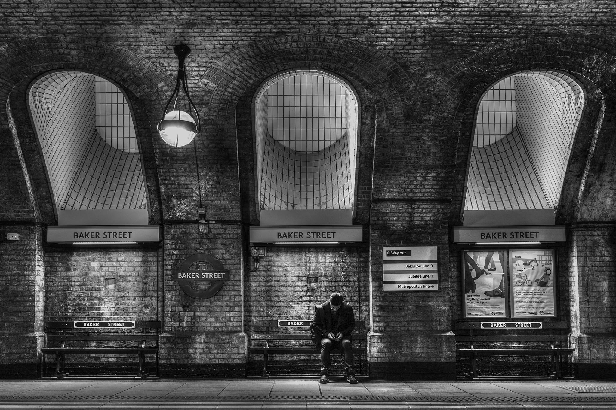 Baker Street Tube Station, United Kingdom