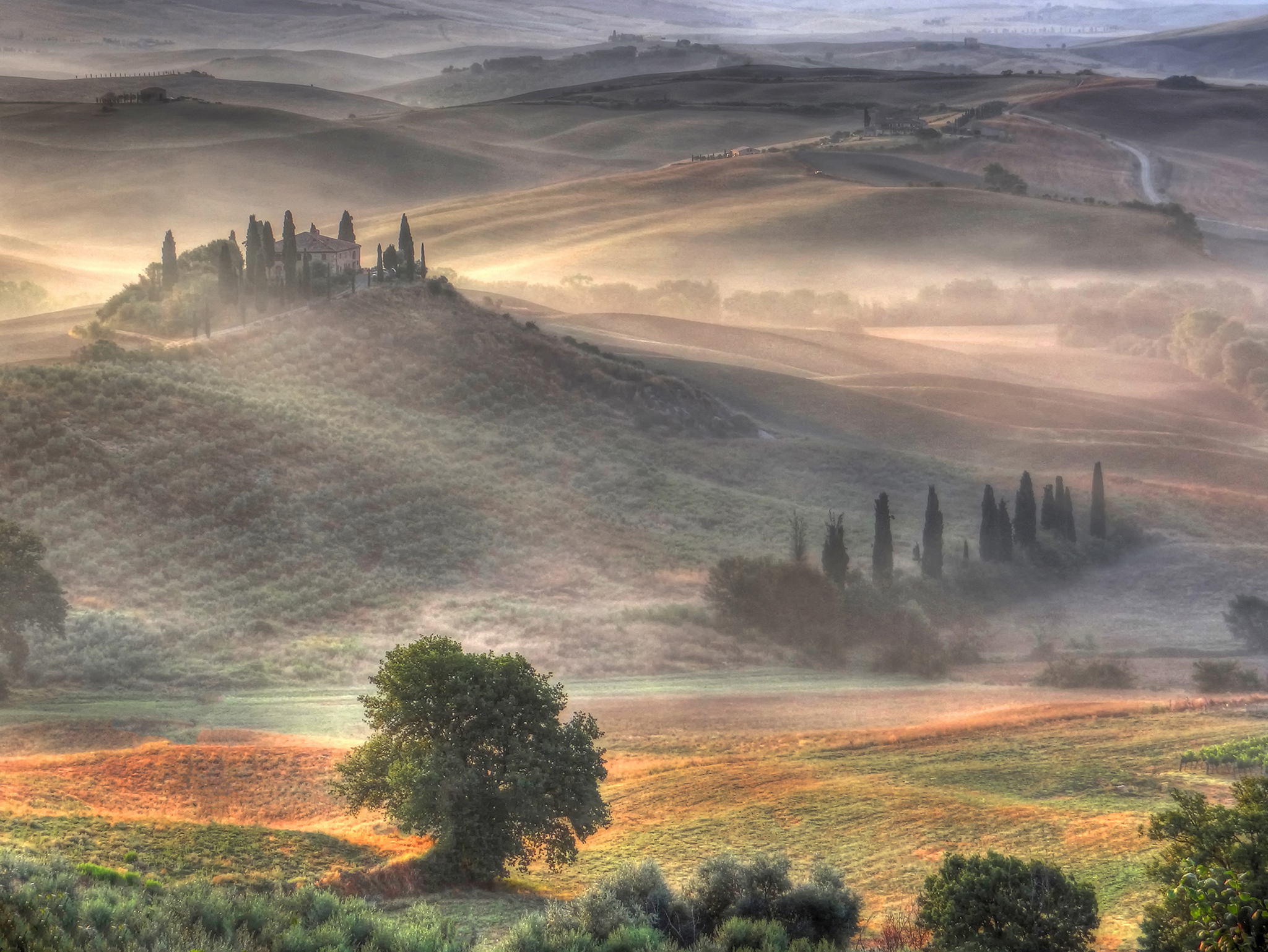 Belvedere im Val d'Orcia, Italy