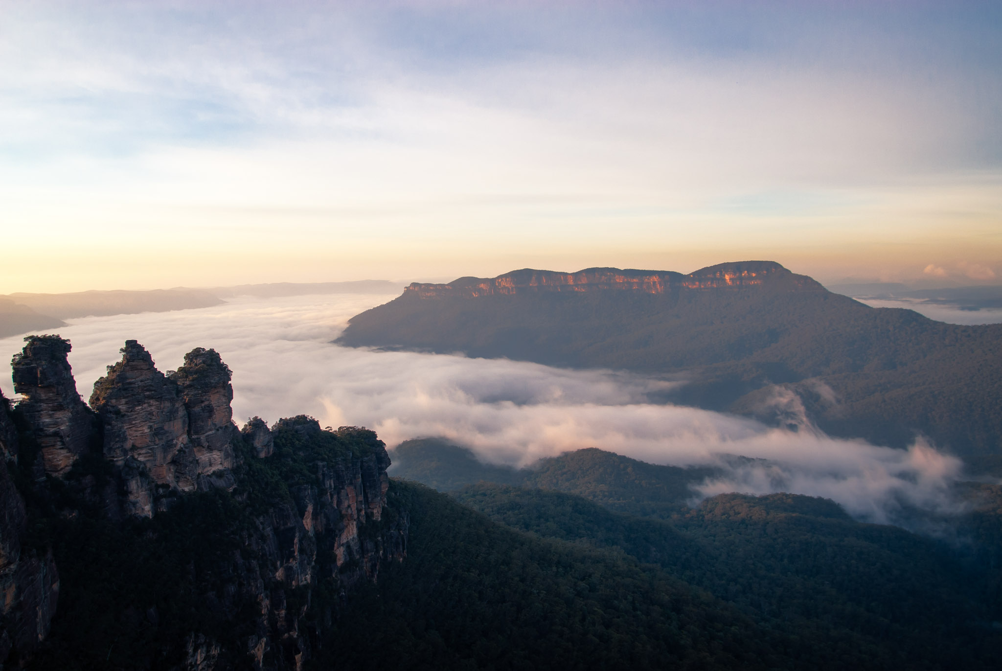 Blue Mountains and Three Sisters, Australia