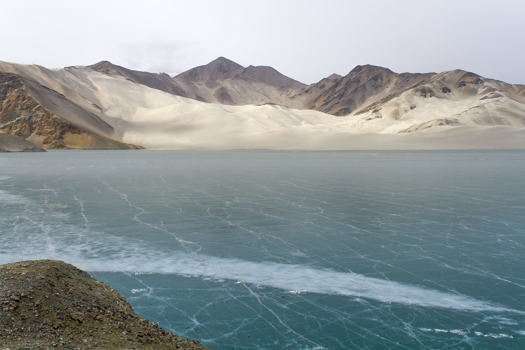 Bulungkol Lake, Karakoram Highway, Xinjiang, China