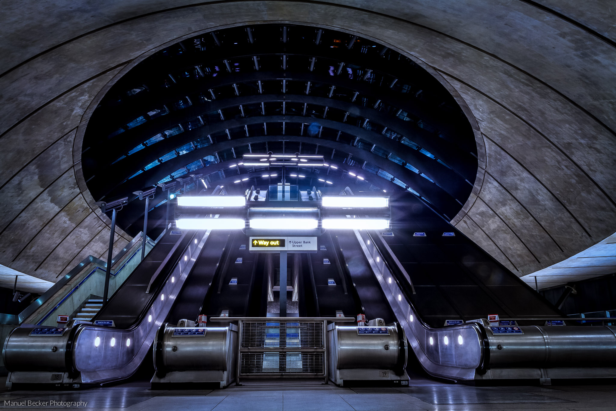Canary Wharf Underground, London, United Kingdom