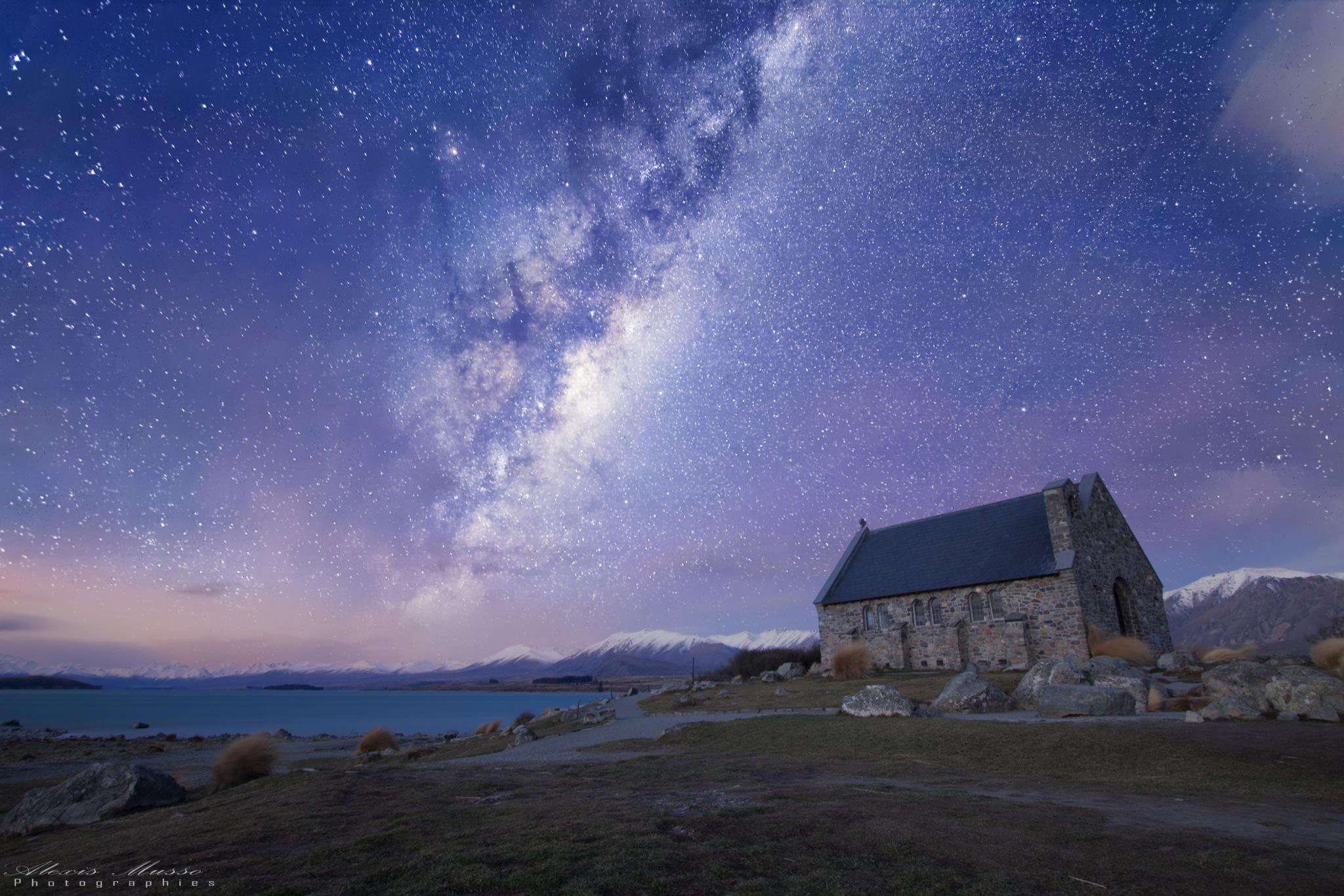 Church of Good Shepherd - Lake Tekapo, New Zealand