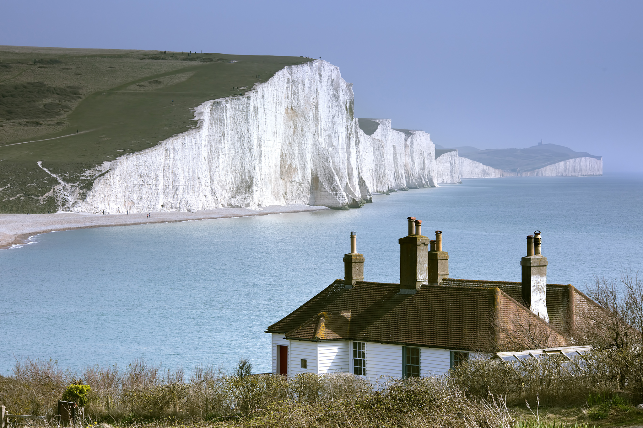 Coastguard Cottages and The Seven Sisters, United Kingdom