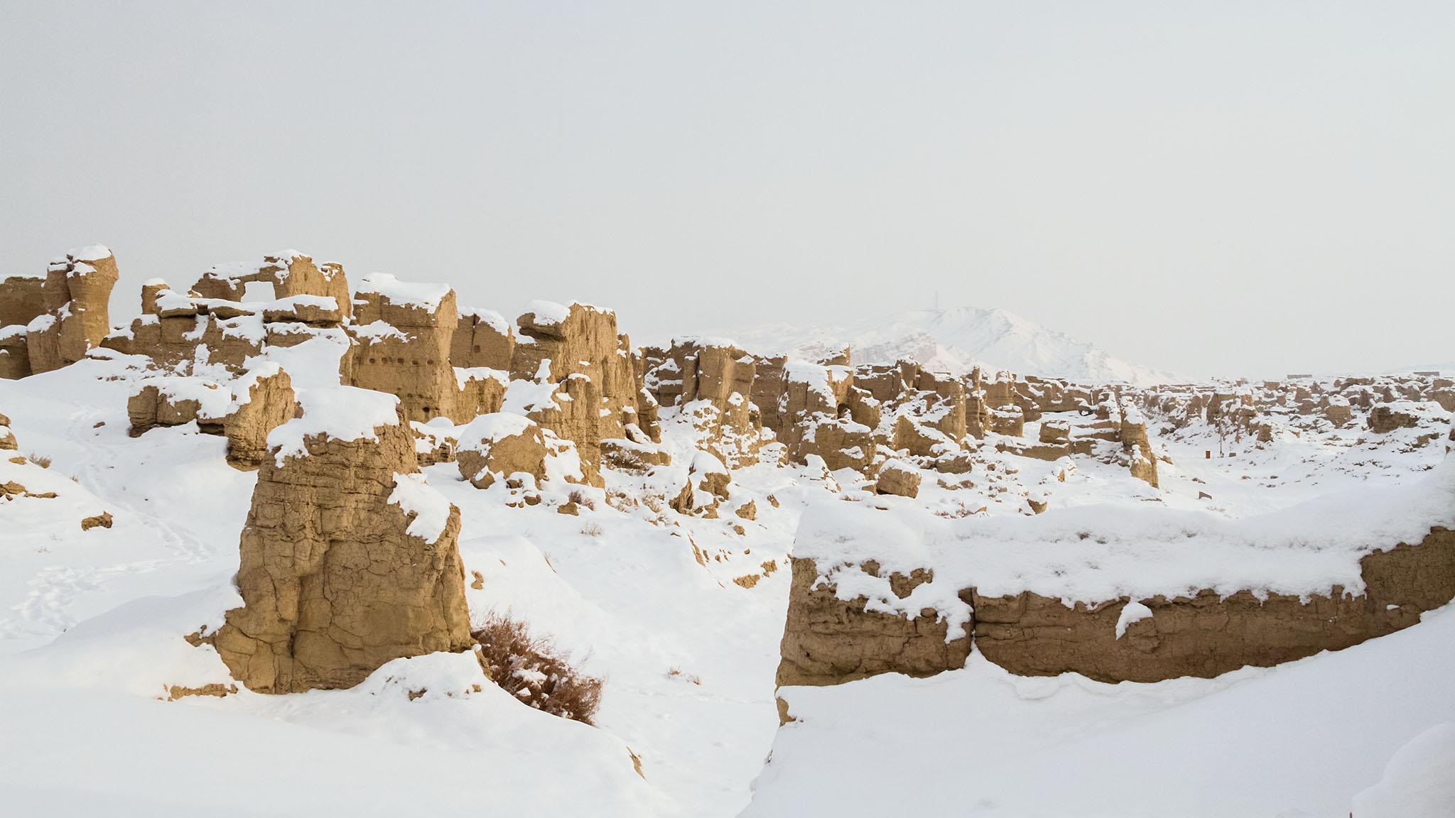 Jiaohe Ruins, Turfan, China