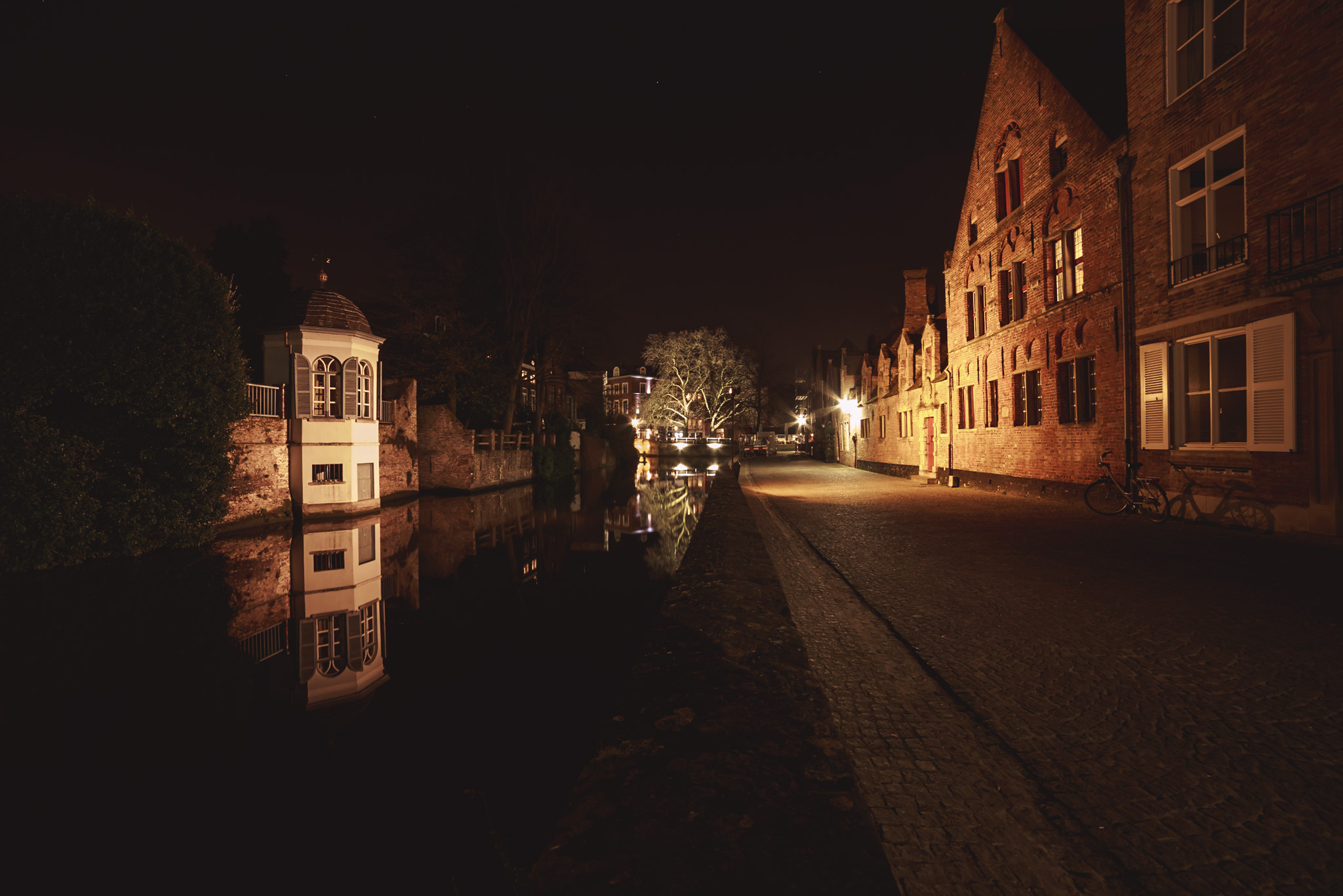 Leseraum in Brugge, Belgium