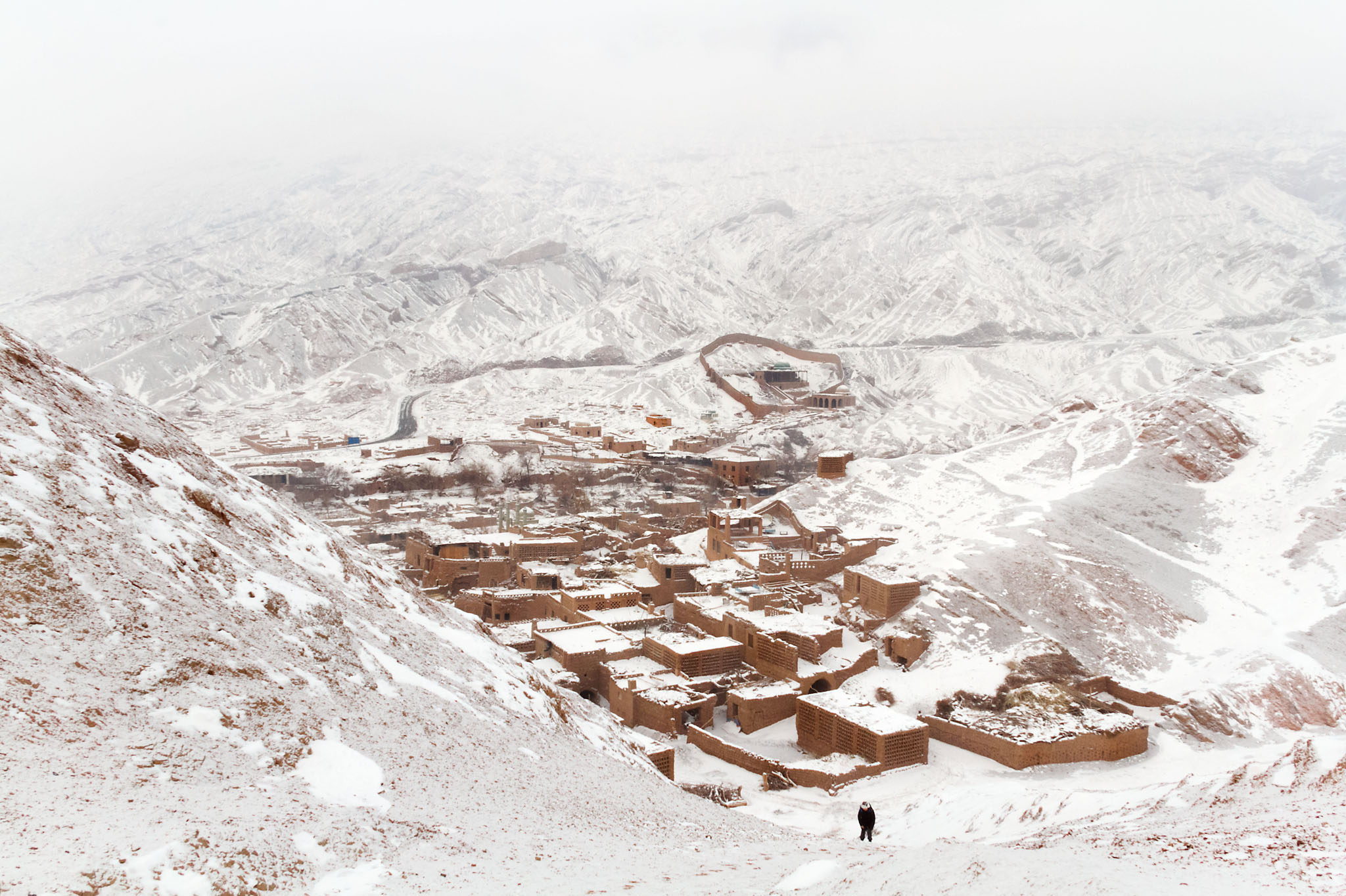 Tuyugou Valley, Turfan, China
