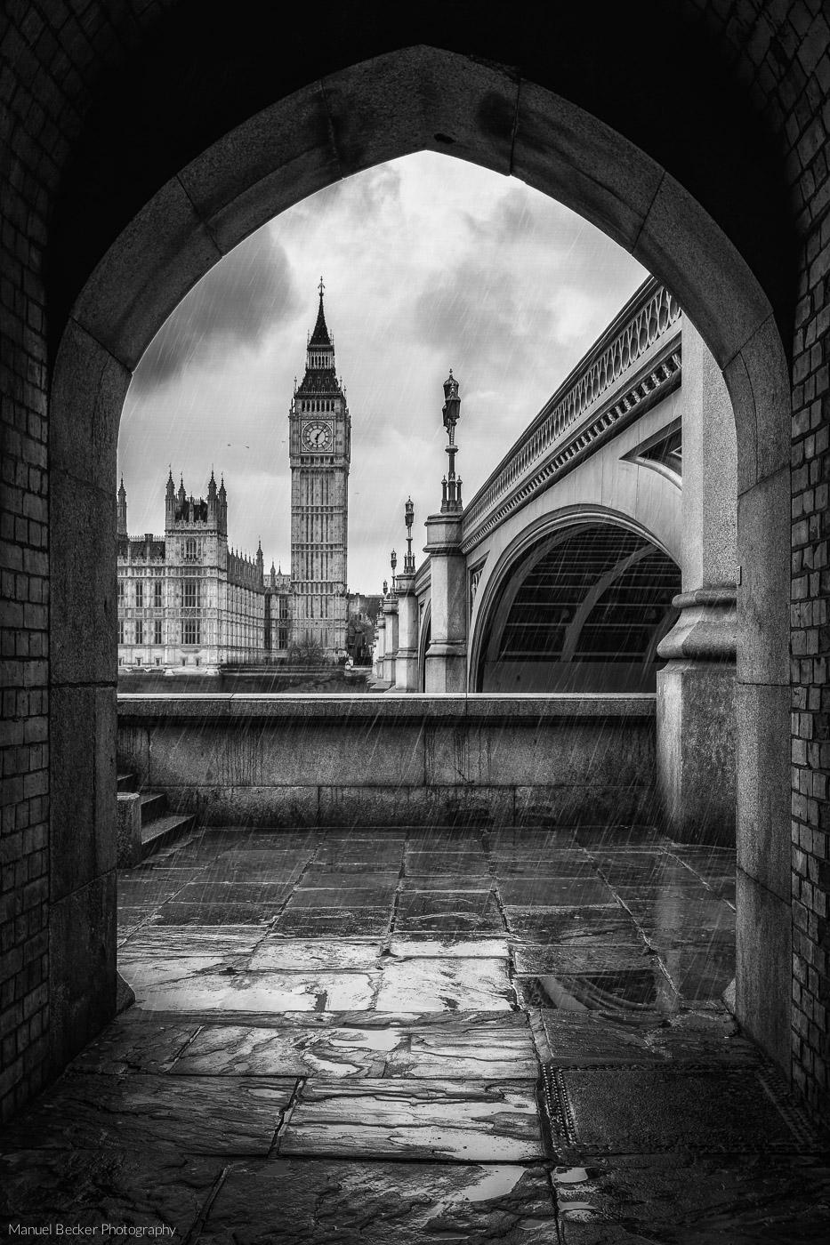 View to Big Ben, London, United Kingdom