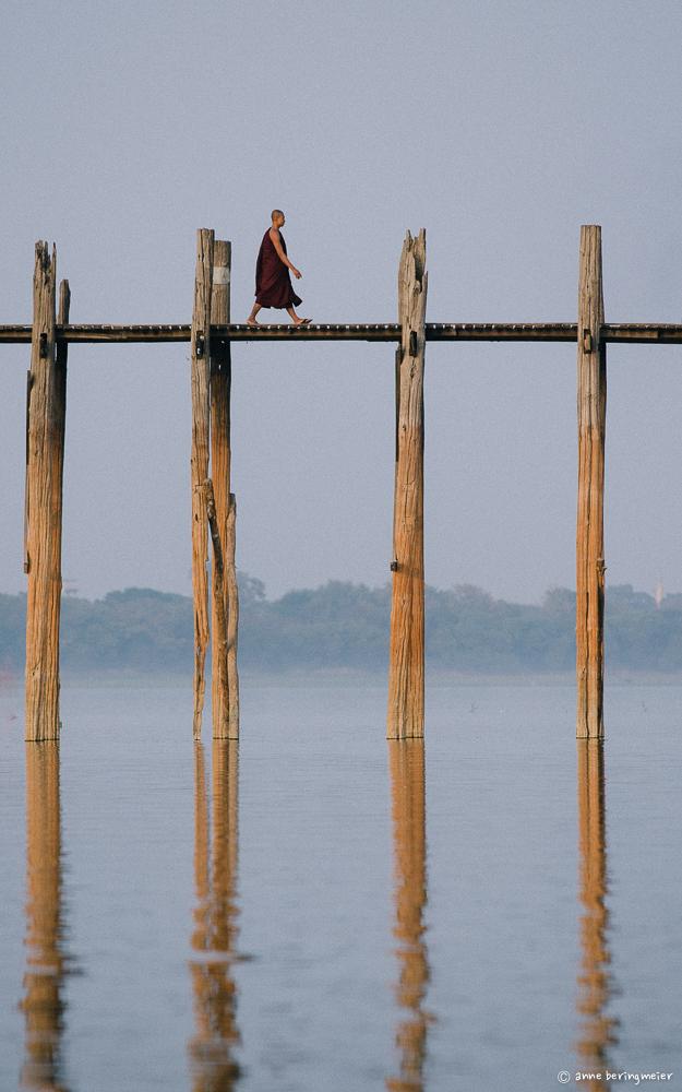 U Bein Bridge, Myanmar