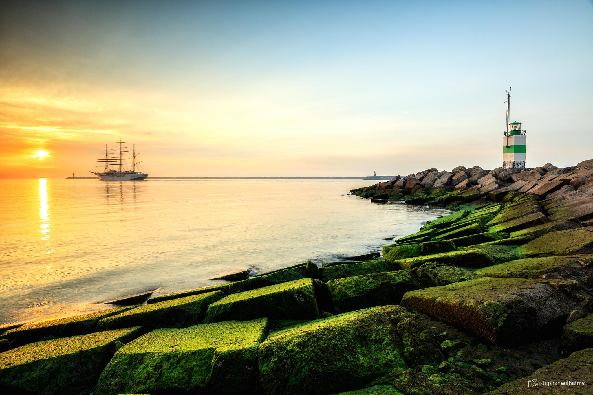 Ijmuiden Lighthouse, Netherlands