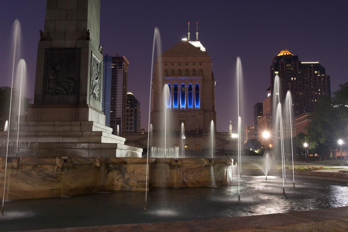 Indianapolis Veterans Memorial, USA