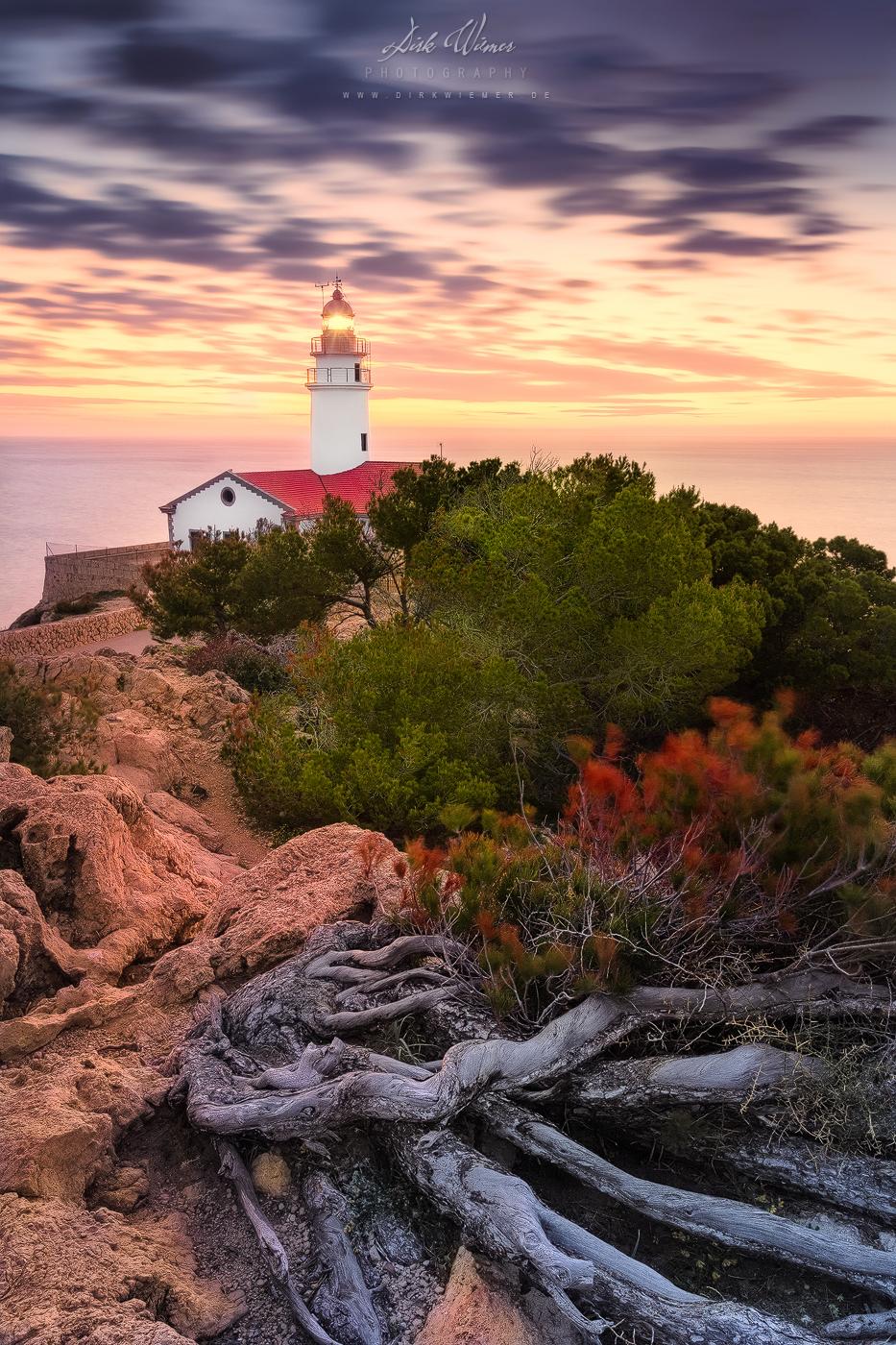 Lighthouse at Punta de Capdepera (Cala Ratjada / Mallorca), Spain