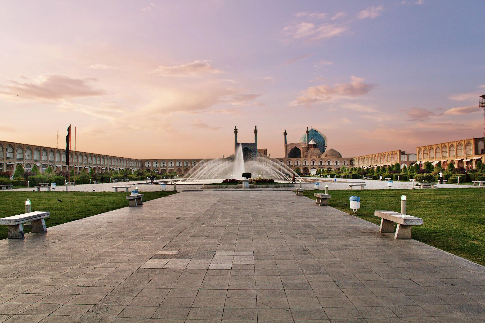 Naqsh-e Jahan Square, Isfahan, Iran