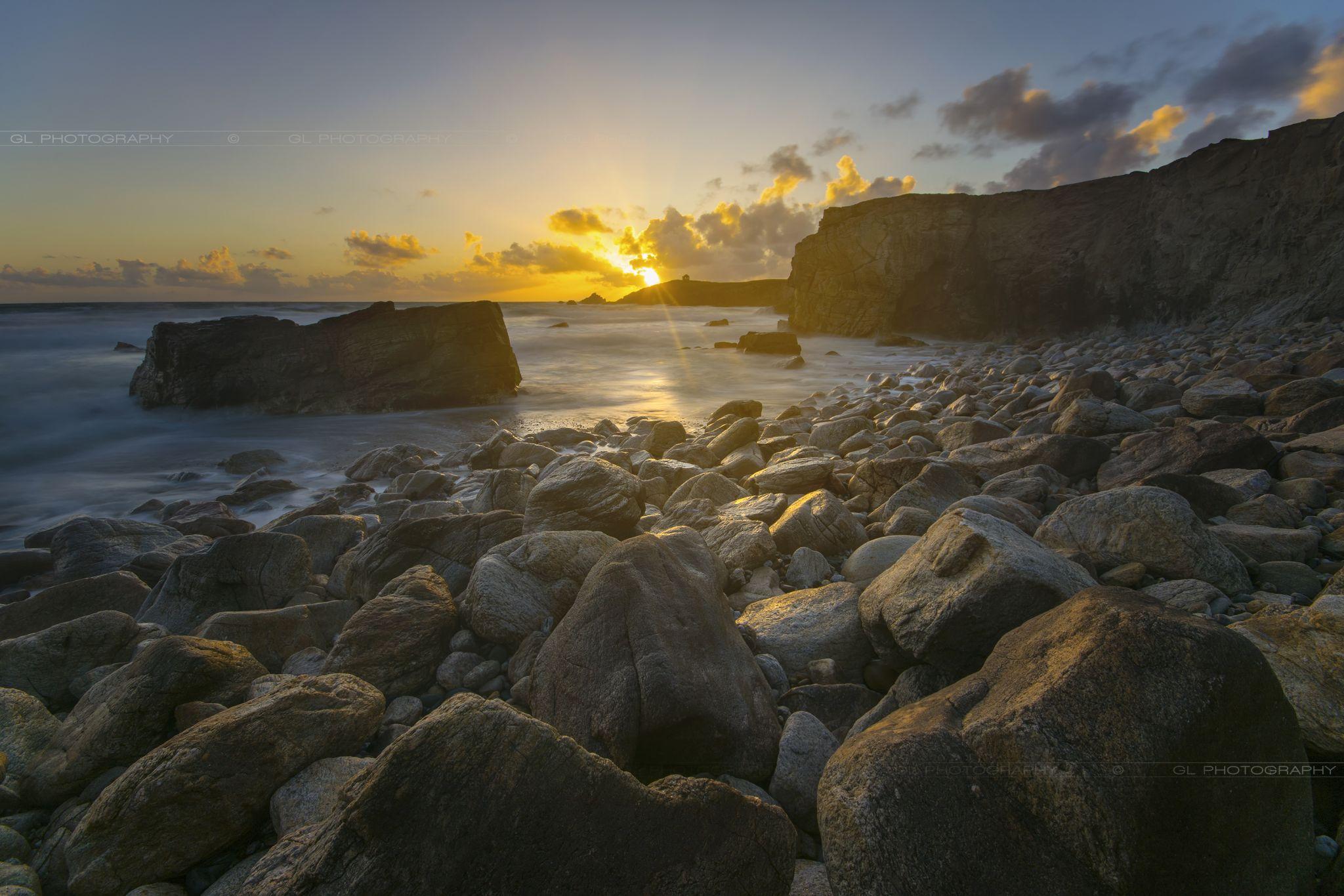 Quiberon wild coast, France
