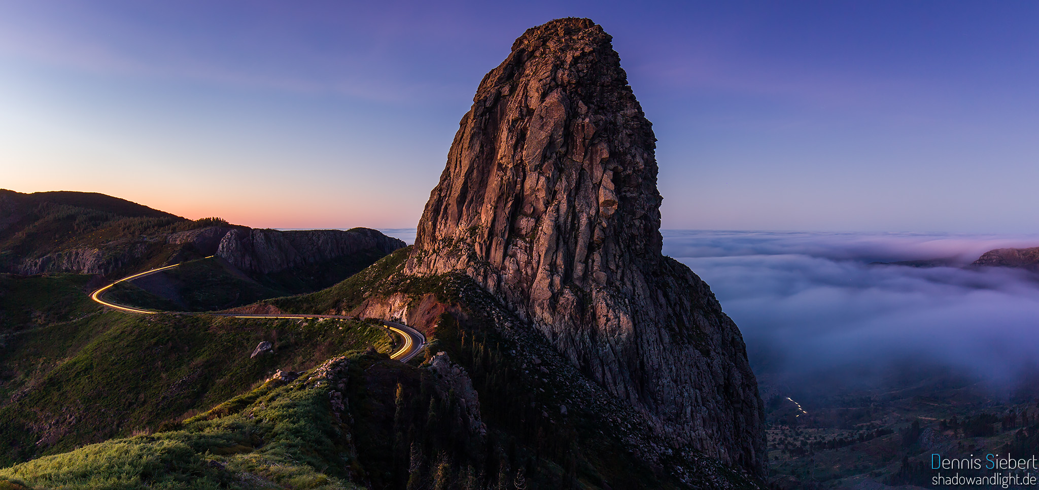 Roque de Agando, Spain