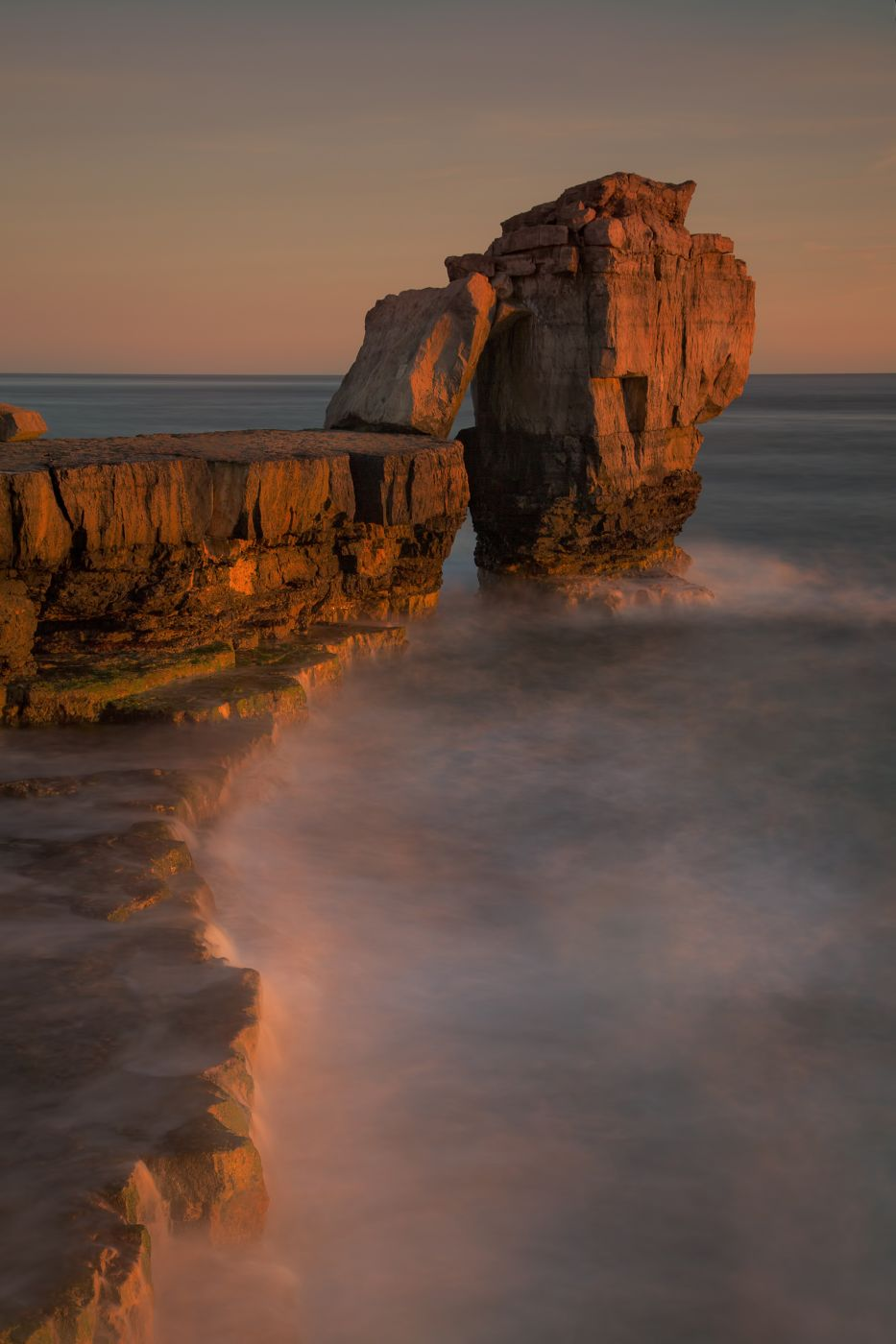 Sunset at Pulpit Rock, United Kingdom